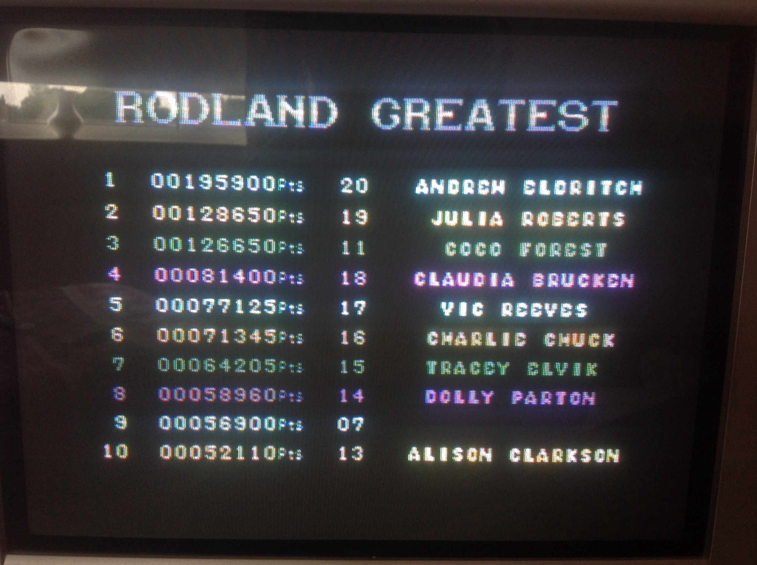 CoCoForest: Rodland (Commodore 64) 126,650 points on 2014-08-05 09:59:14