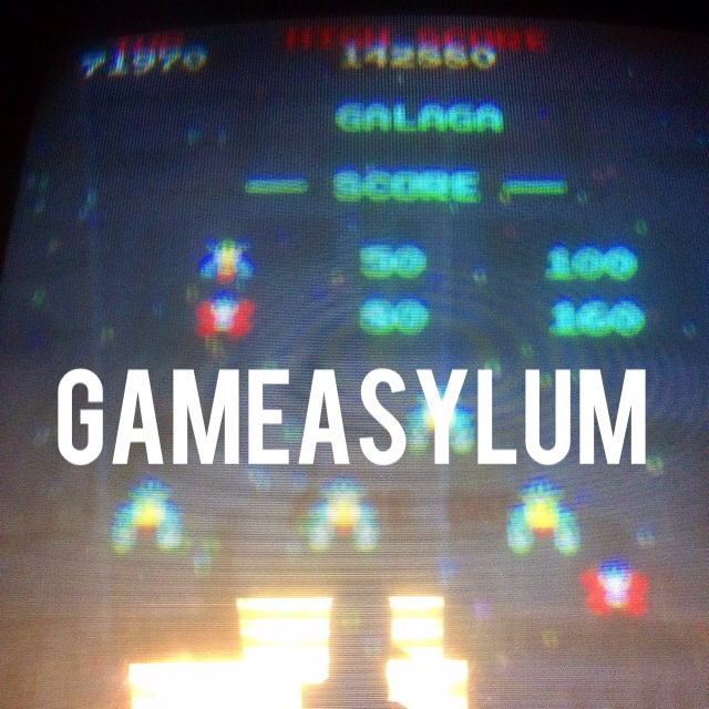 GameAsylum: Galaga (Arcade) 71,970 points on 2014-08-05 19:40:24