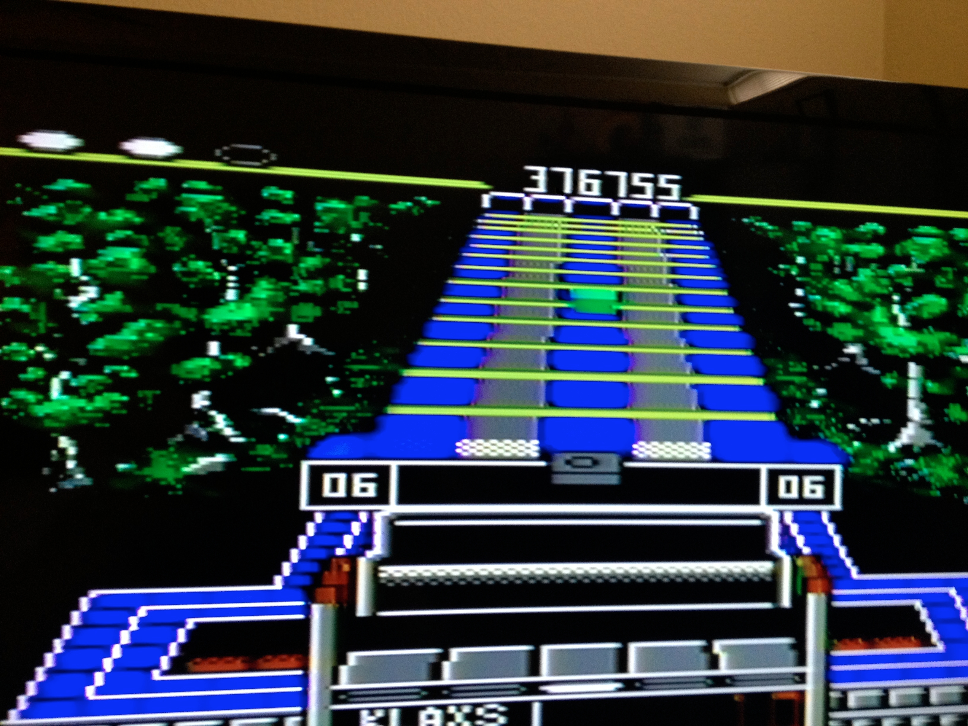 Klax: Normal [Level 01 Start] 376,755 points