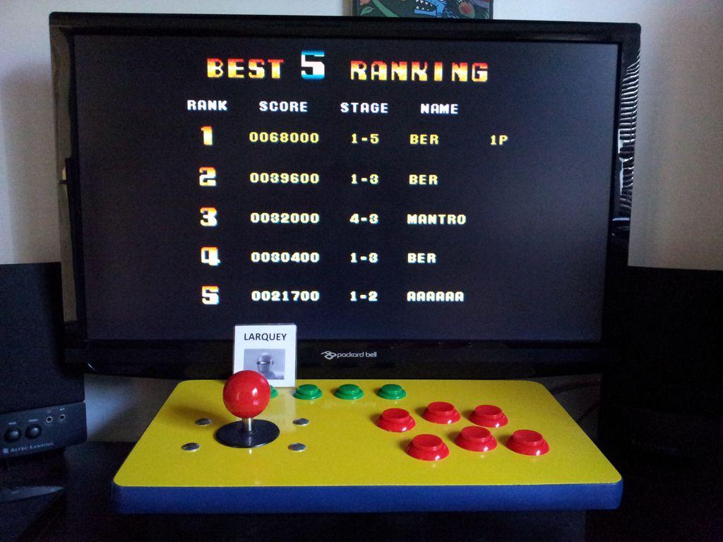Bomber Man World [bbmanw] 68,000 points
