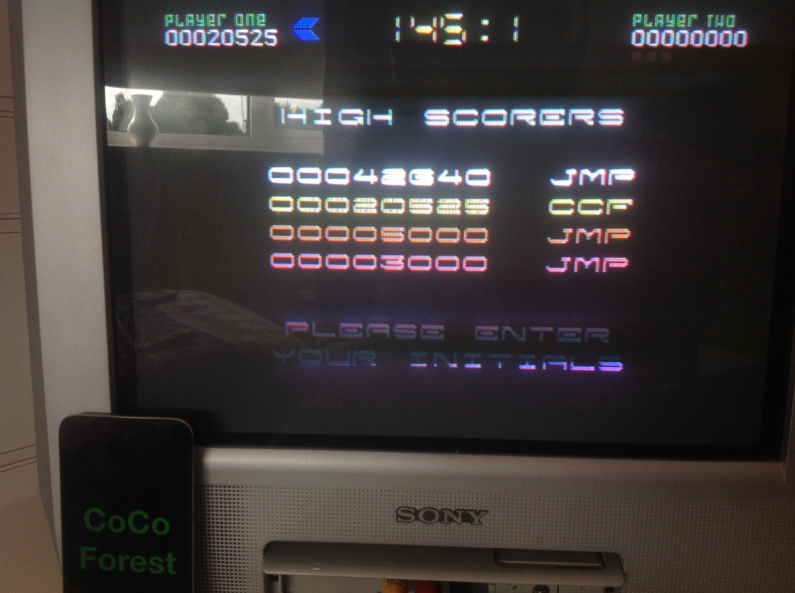 CoCoForest: Nebulus (Commodore 64) 20,525 points on 2014-08-07 10:01:34