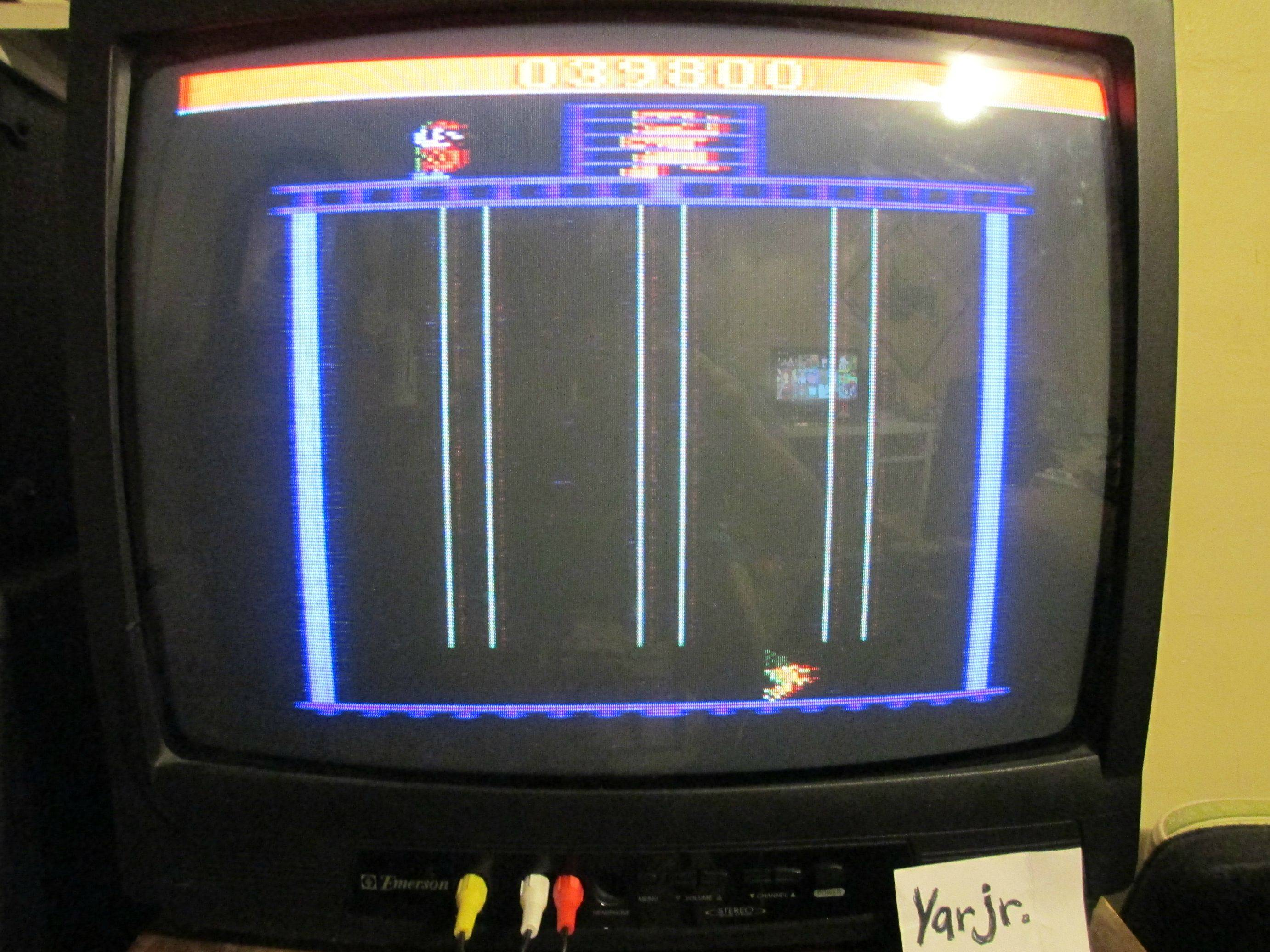 Donkey Kong Junior 39,800 points