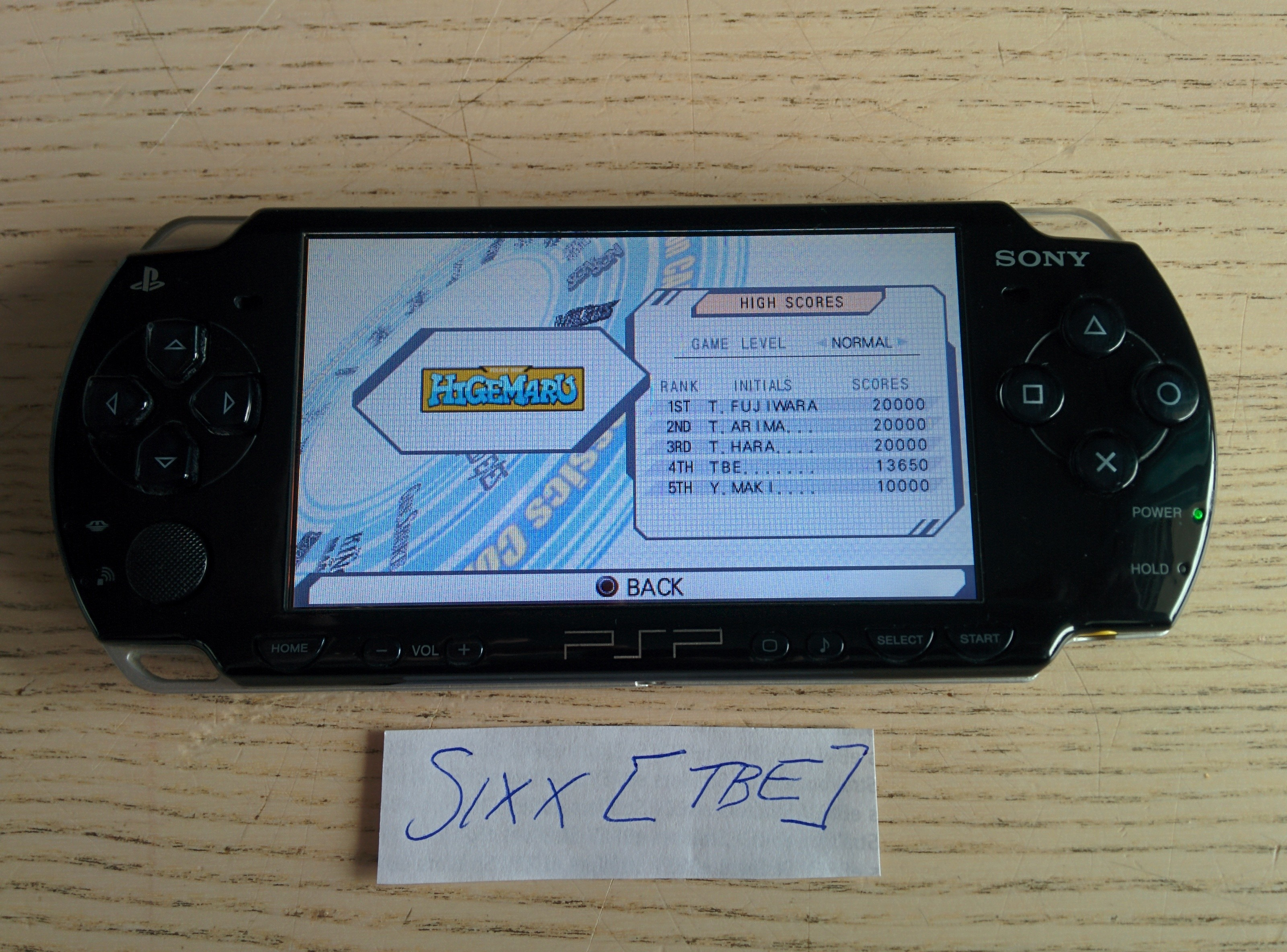 Sixx: Capcom Classics Collection Reloaded: Higemaru (PSP) 13,650 points on 2014-08-09 17:51:47