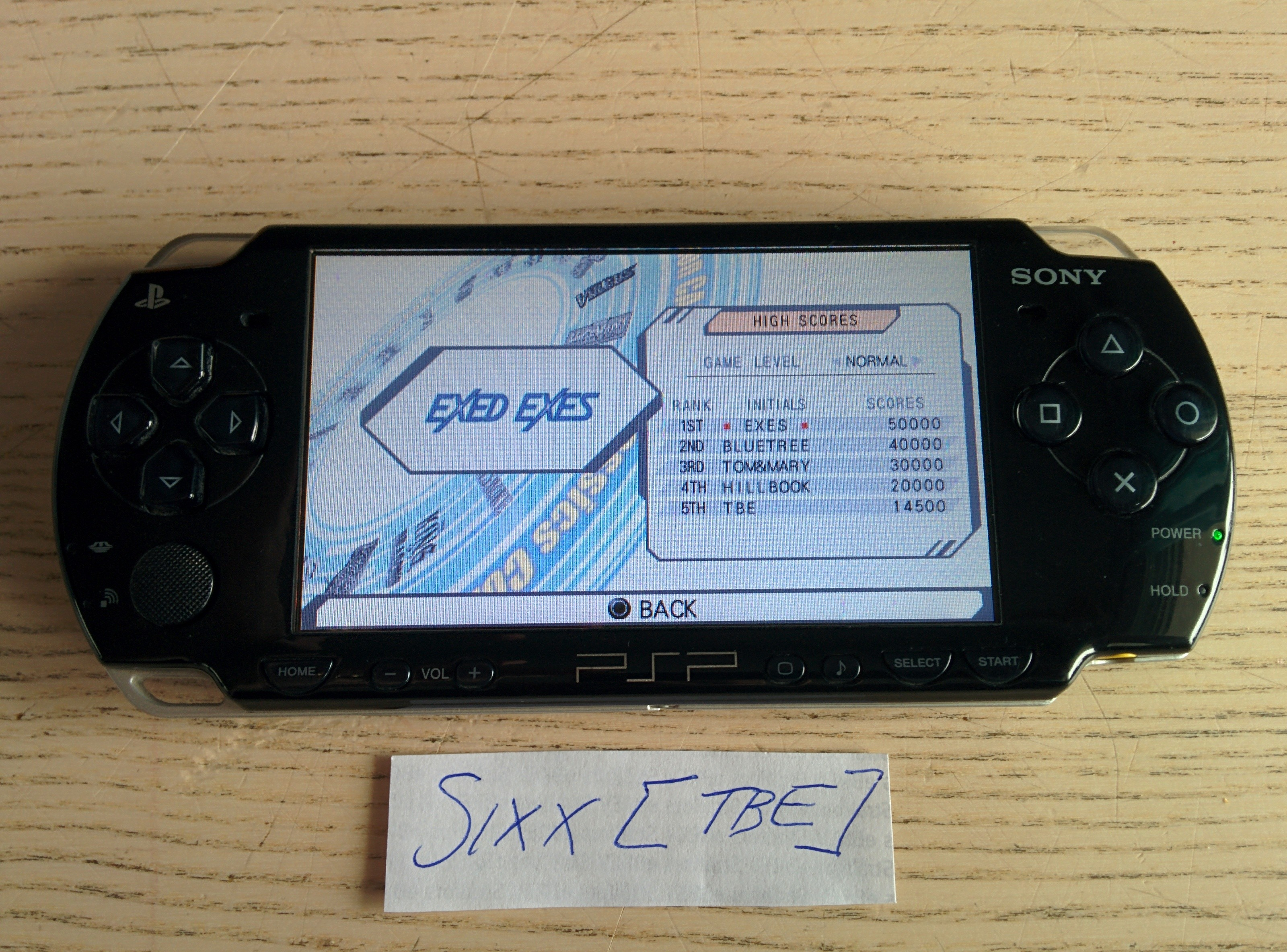 Sixx: Capcom Classics Collection Reloaded: Exed Exes (PSP) 14,500 points on 2014-08-09 17:53:23