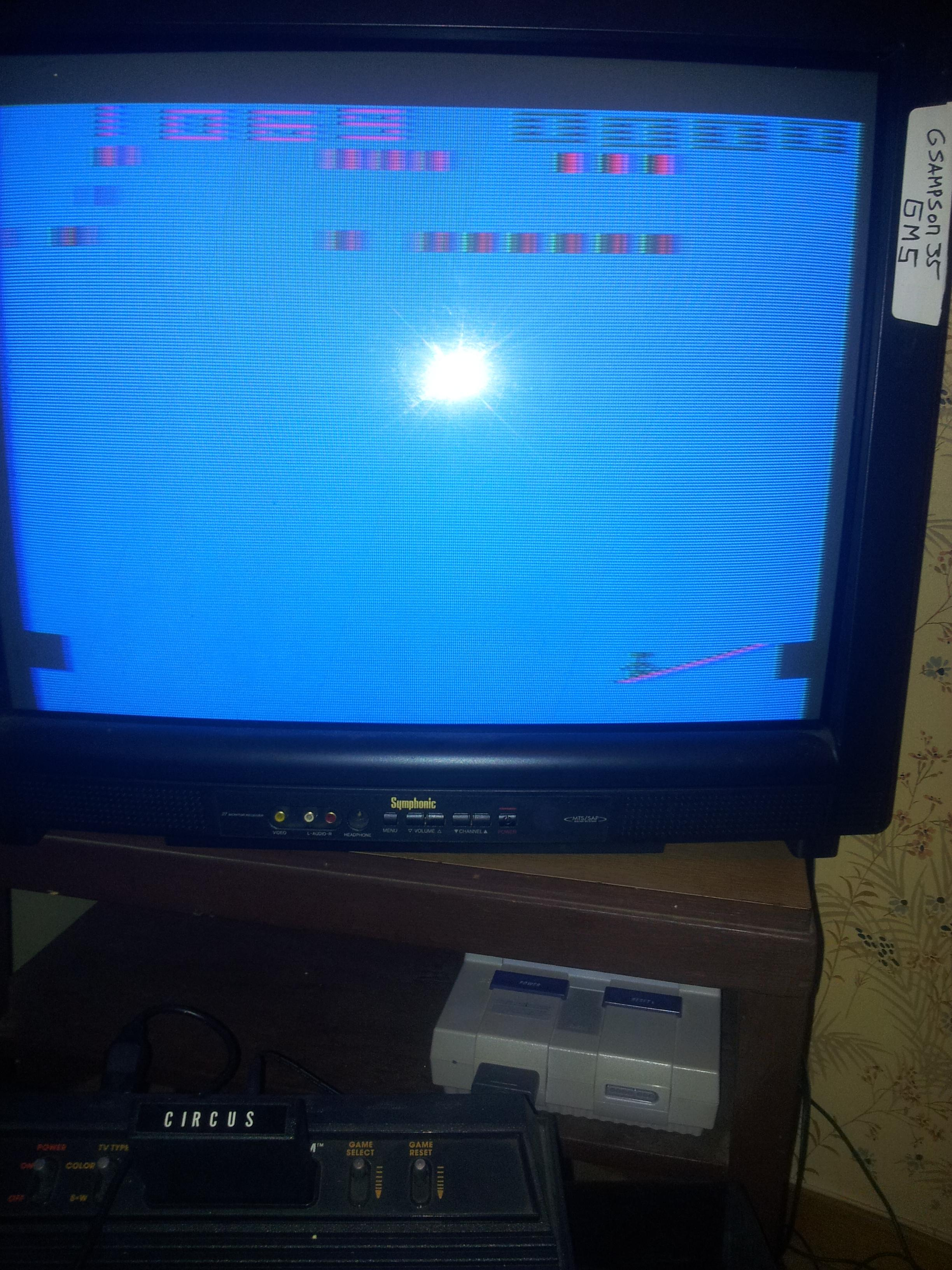 Circus Atari 1,069 points