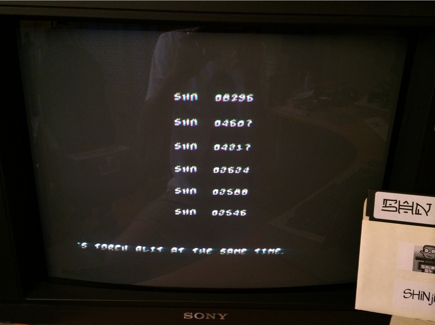 SHiNjide: Panic Analouge (Commodore 64) 8,296 points on 2014-08-11 13:19:36