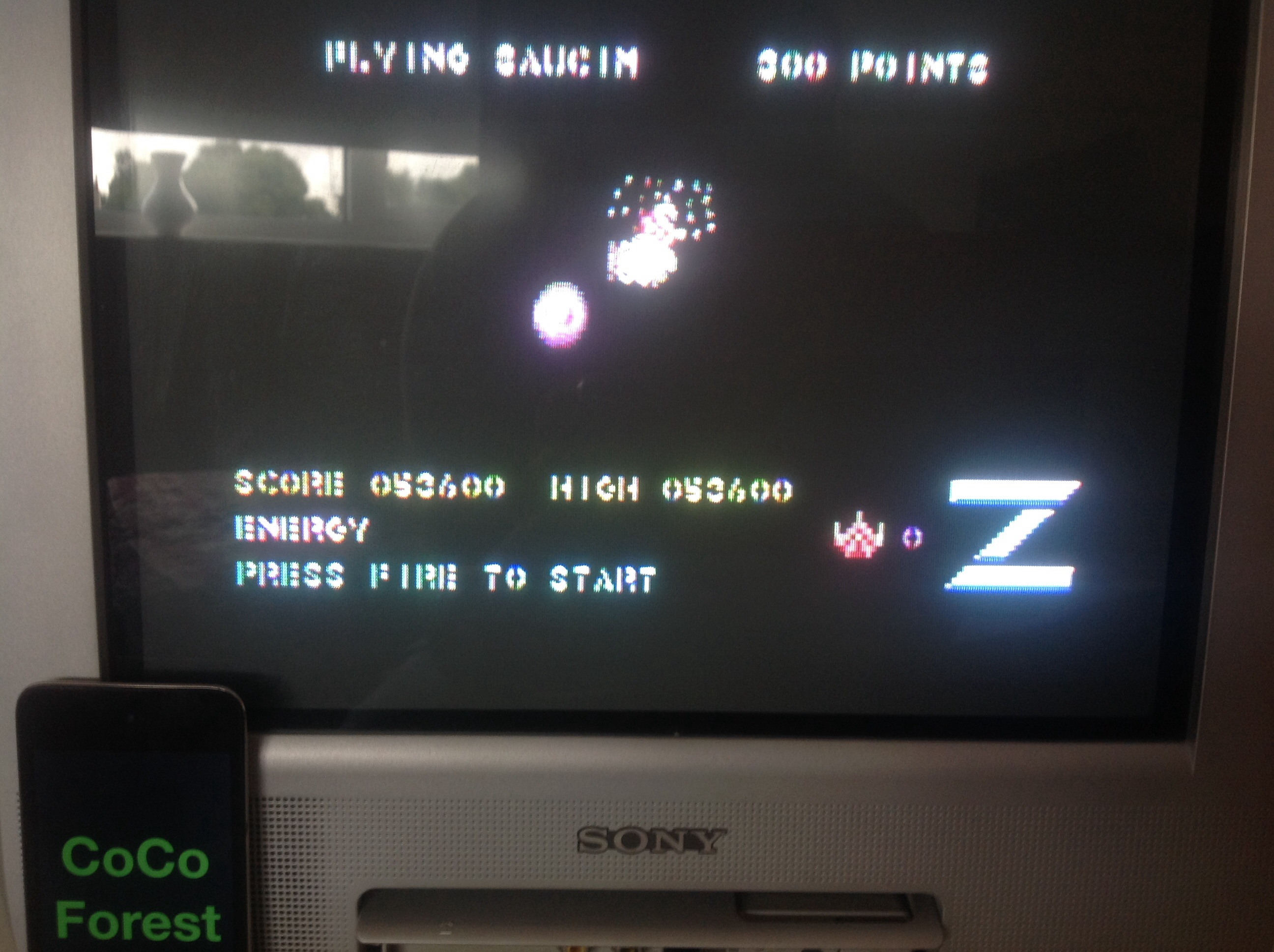 CoCoForest: Z / Z-Pilot (Commodore 64) 53,600 points on 2014-08-14 03:52:28