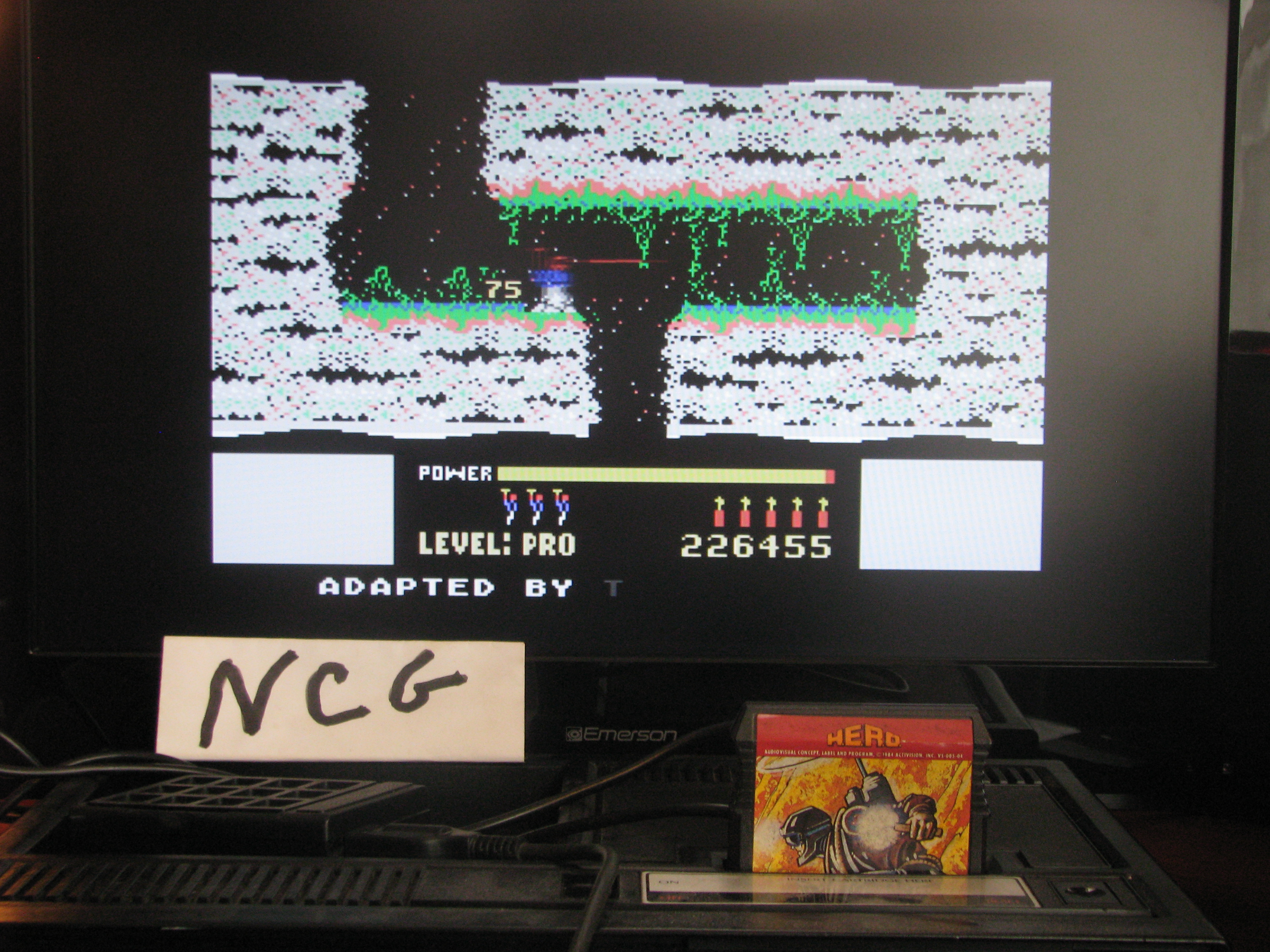 NorthCoastGamer: H.E.R.O. (Colecovision) 226,455 points on 2014-08-14 11:11:46