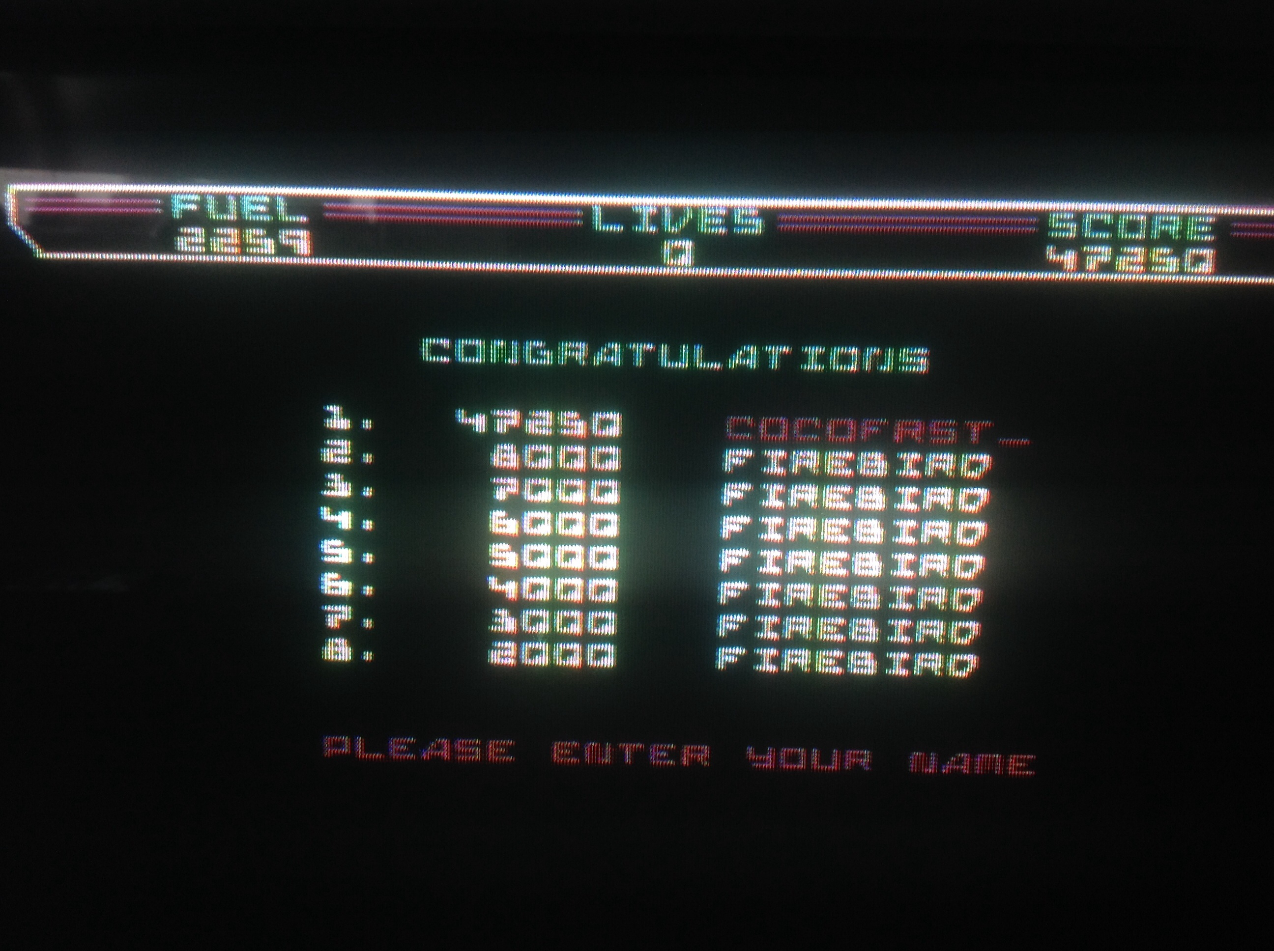 CoCoForest: Thrust (Commodore 64) 47,250 points on 2014-08-14 13:30:47