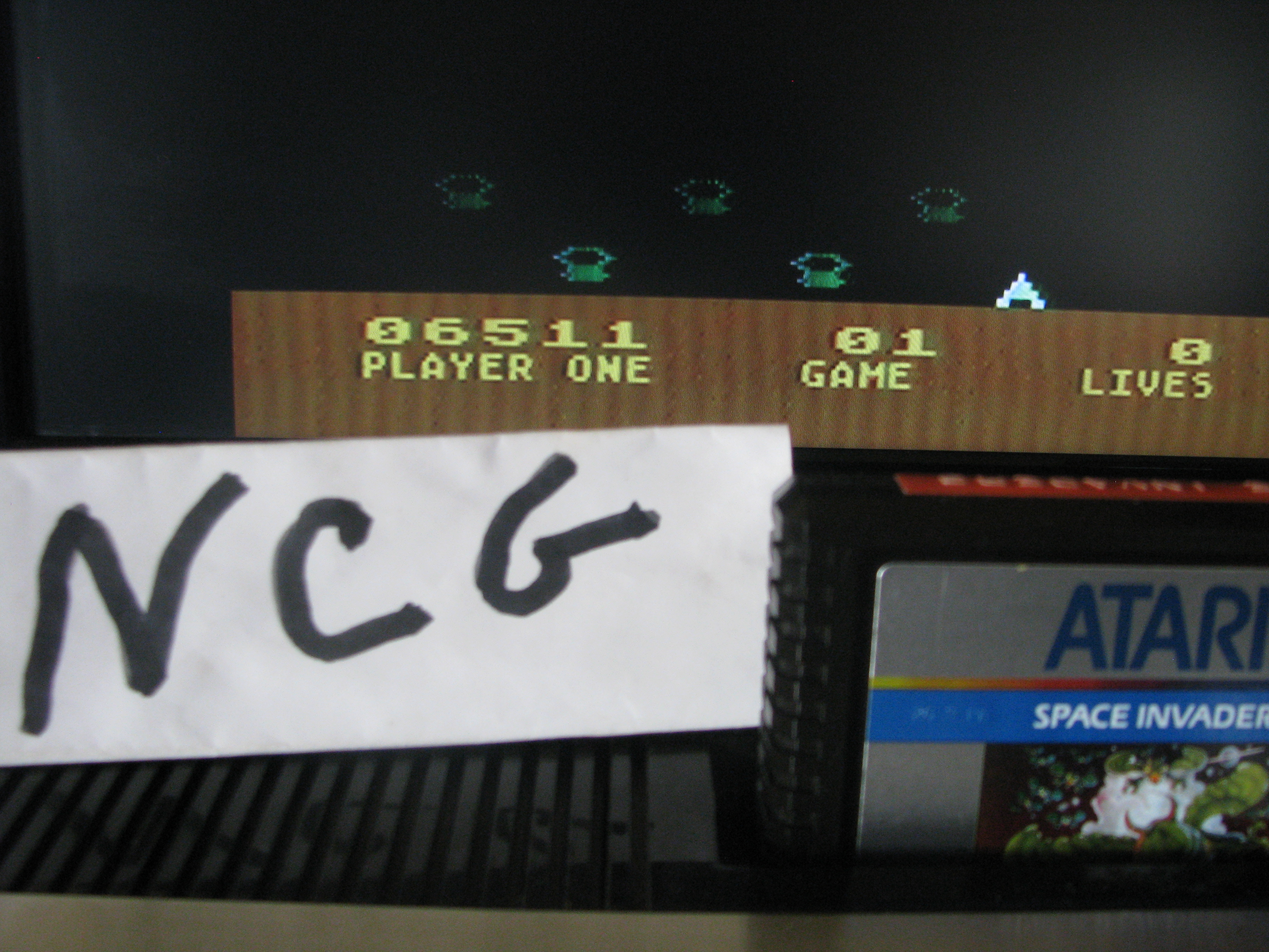 NorthCoastGamer: Space Invaders: Game 1 (Atari 5200) 6,511 points on 2014-08-16 08:59:26