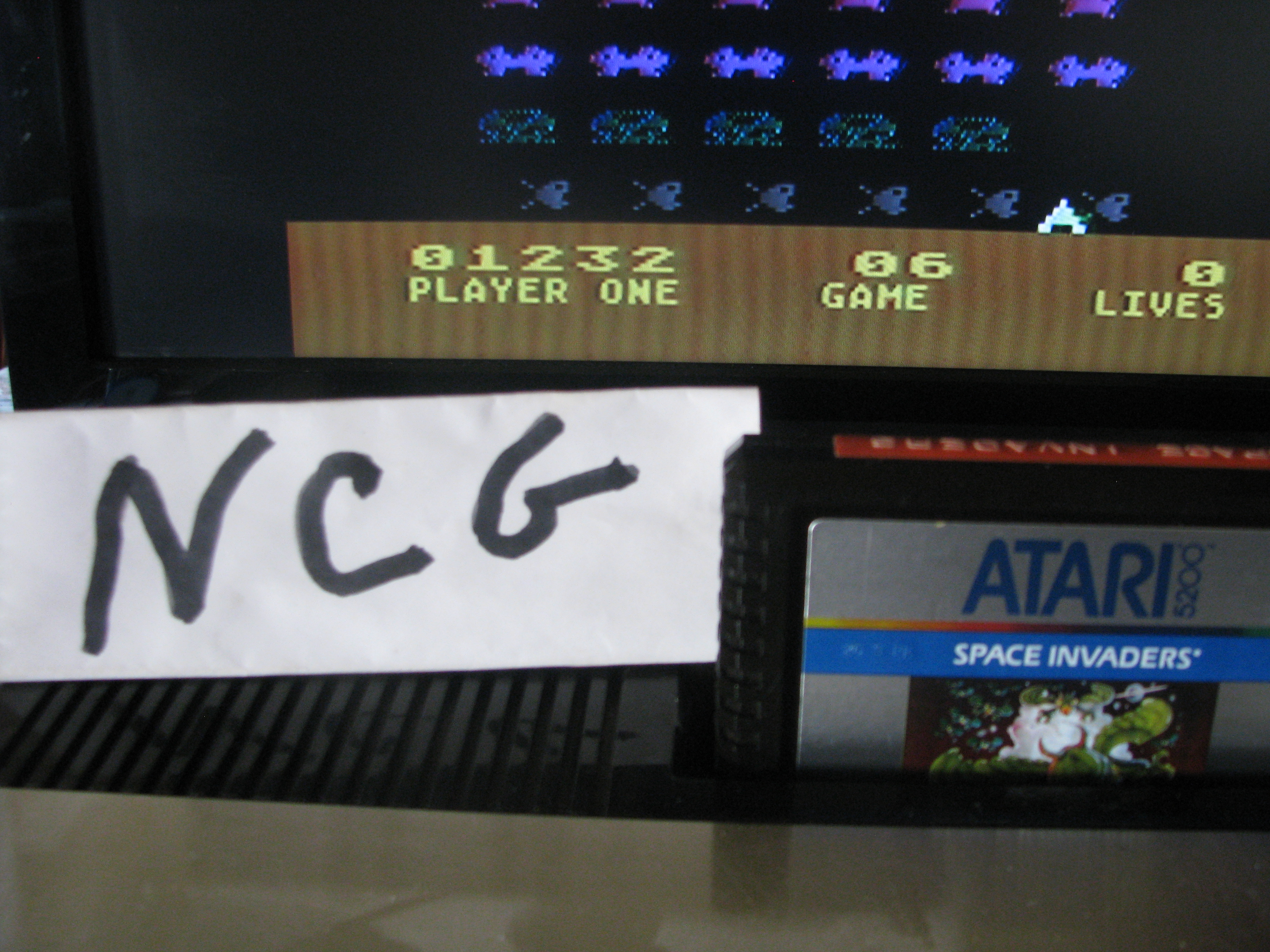 NorthCoastGamer: Space Invaders: Game 06 (Atari 5200) 1,232 points on 2014-08-16 09:02:20
