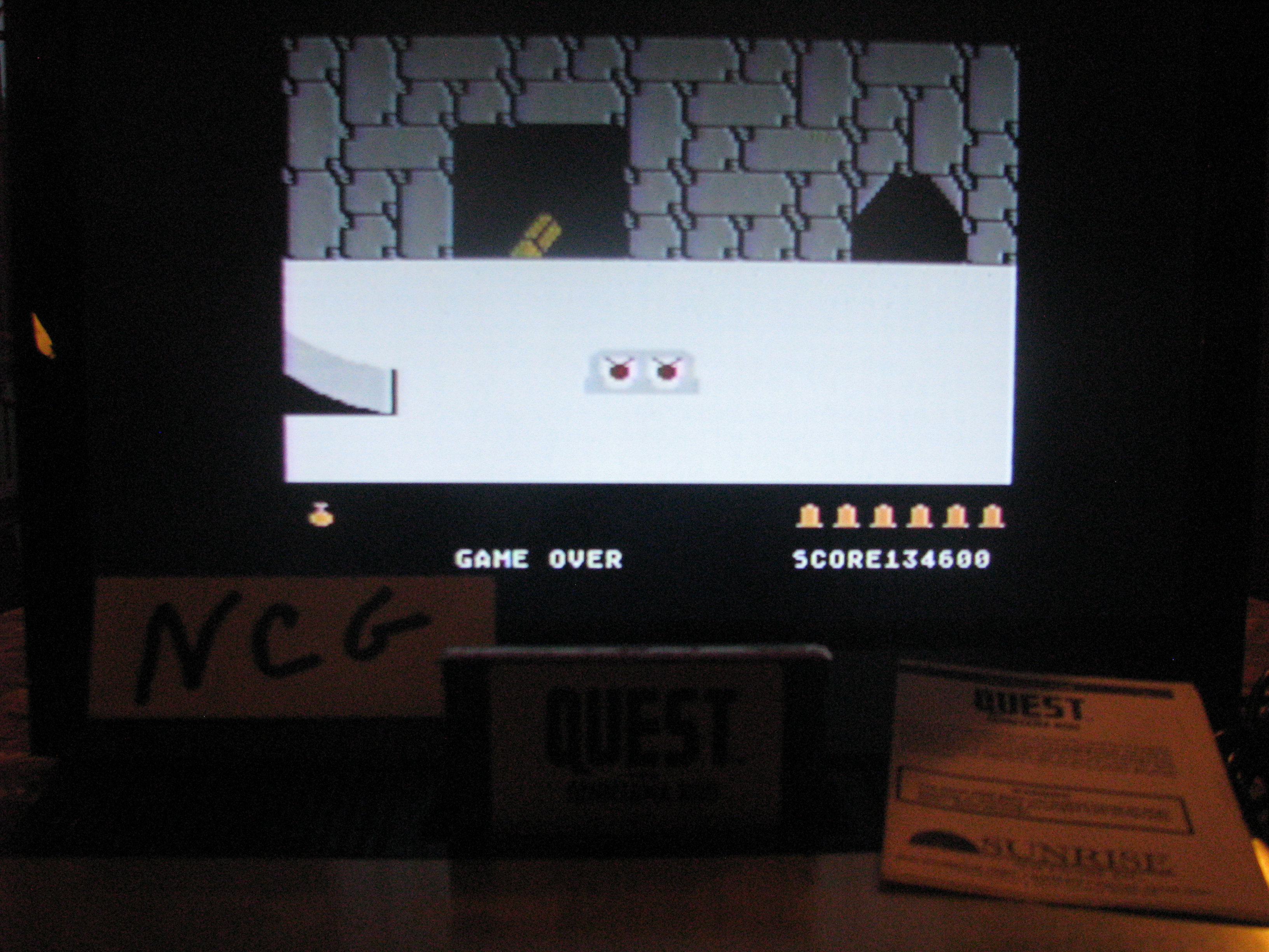 NorthCoastGamer: Quest For Quintana Roo (Atari 5200) 134,600 points on 2014-08-16 19:55:35