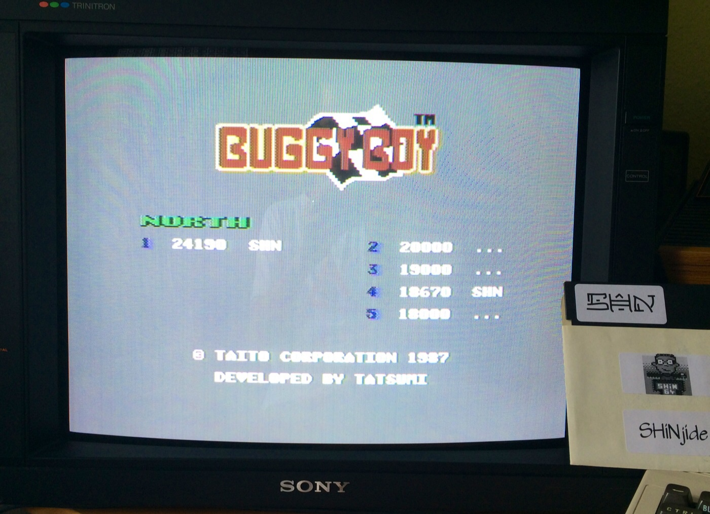 Buggy Boy: North 24,190 points