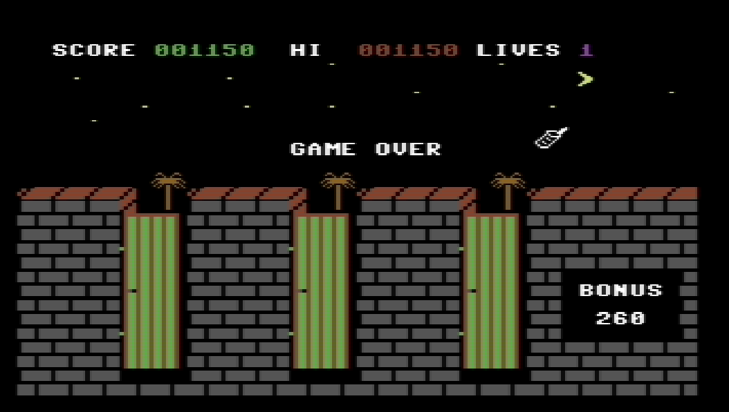 Alleykat [C64 mode] 1,150 points