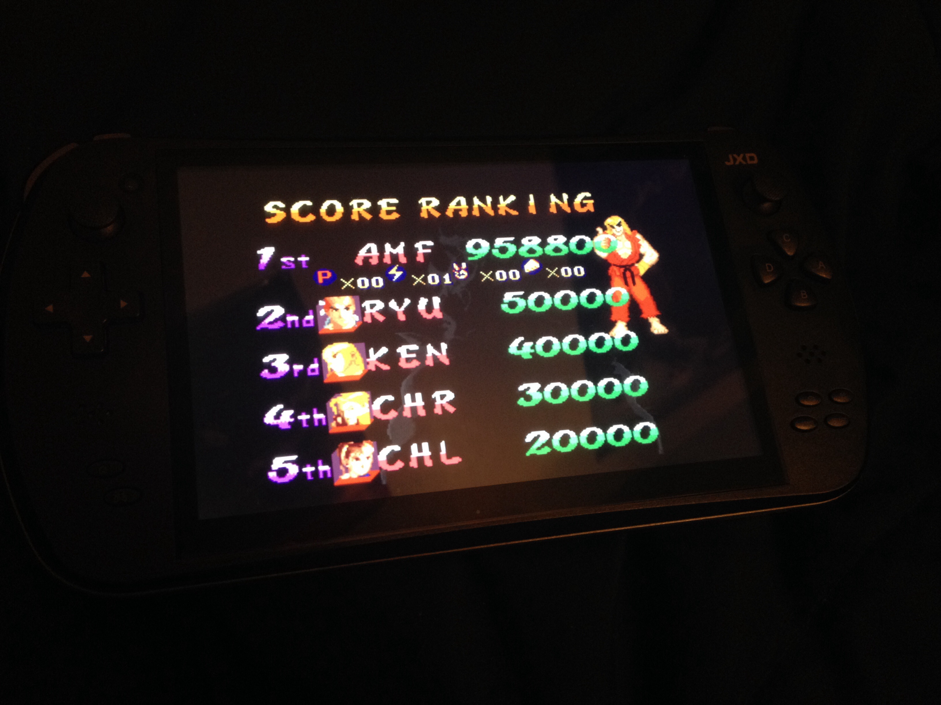 FosterAMF: Street Fighter Alpha 2 (SNES/Super Famicom Emulated) 958,800 points on 2014-08-20 06:03:02