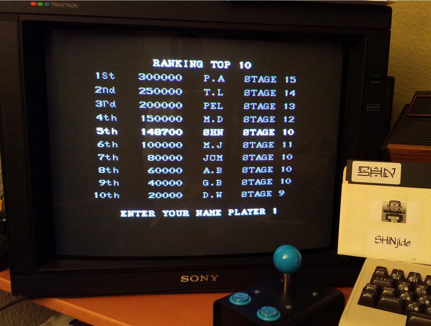 SHiNjide: Pang (Amiga) 148,700 points on 2014-08-21 15:59:10