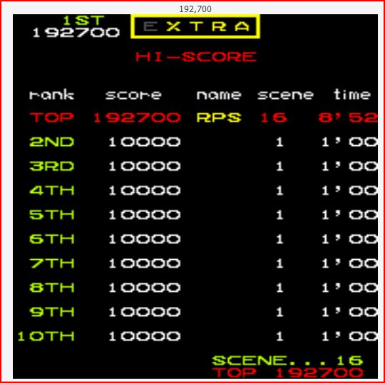 RichyS: Mr. Do (Arcade Emulated / M.A.M.E.) 192,700 points on 2014-08-22 17:31:24