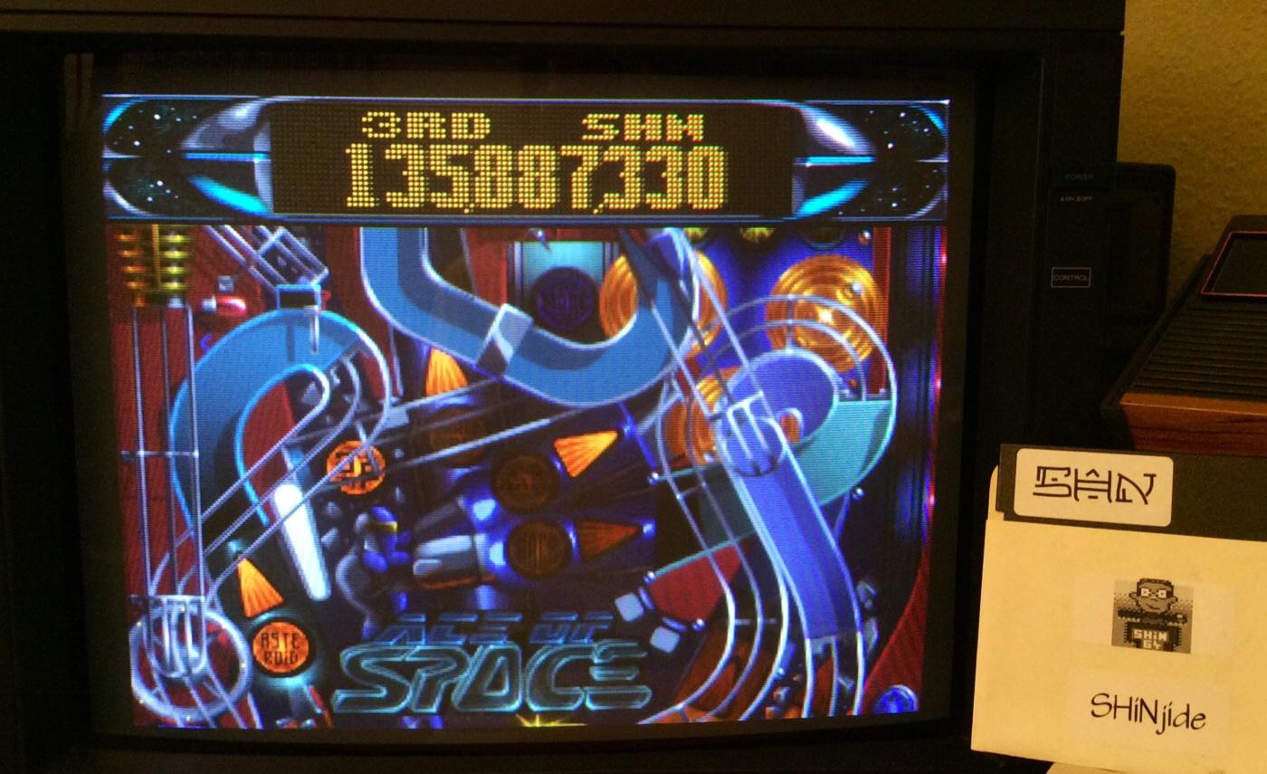 SHiNjide: Slam Tilt: Ace of Space (Amiga) 135,887,330 points on 2014-08-23 03:40:45