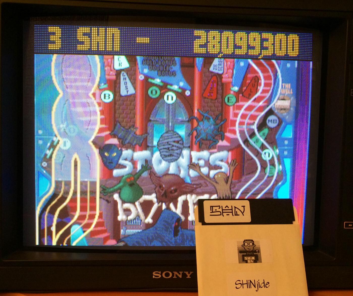 SHiNjide: Pinball Fantasies: Stones N Bones (Amiga) 28,099,300 points on 2014-08-23 13:33:30