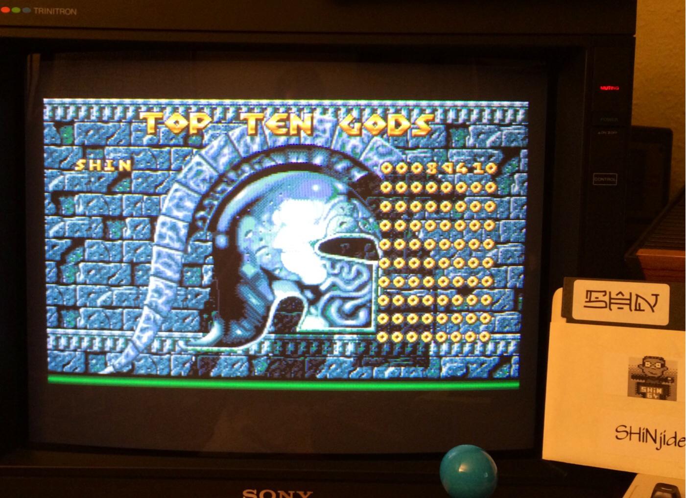 SHiNjide: Gods (Amiga) 89,410 points on 2014-08-23 13:52:52