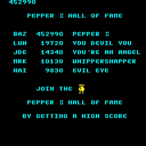 Pepper II 452,990 points