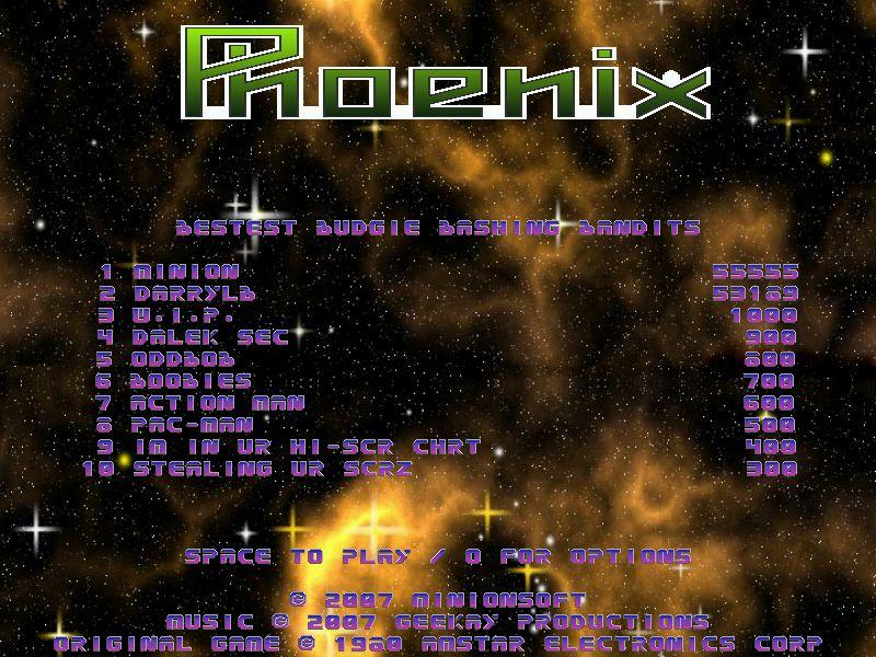 Phoenix 53,169 points