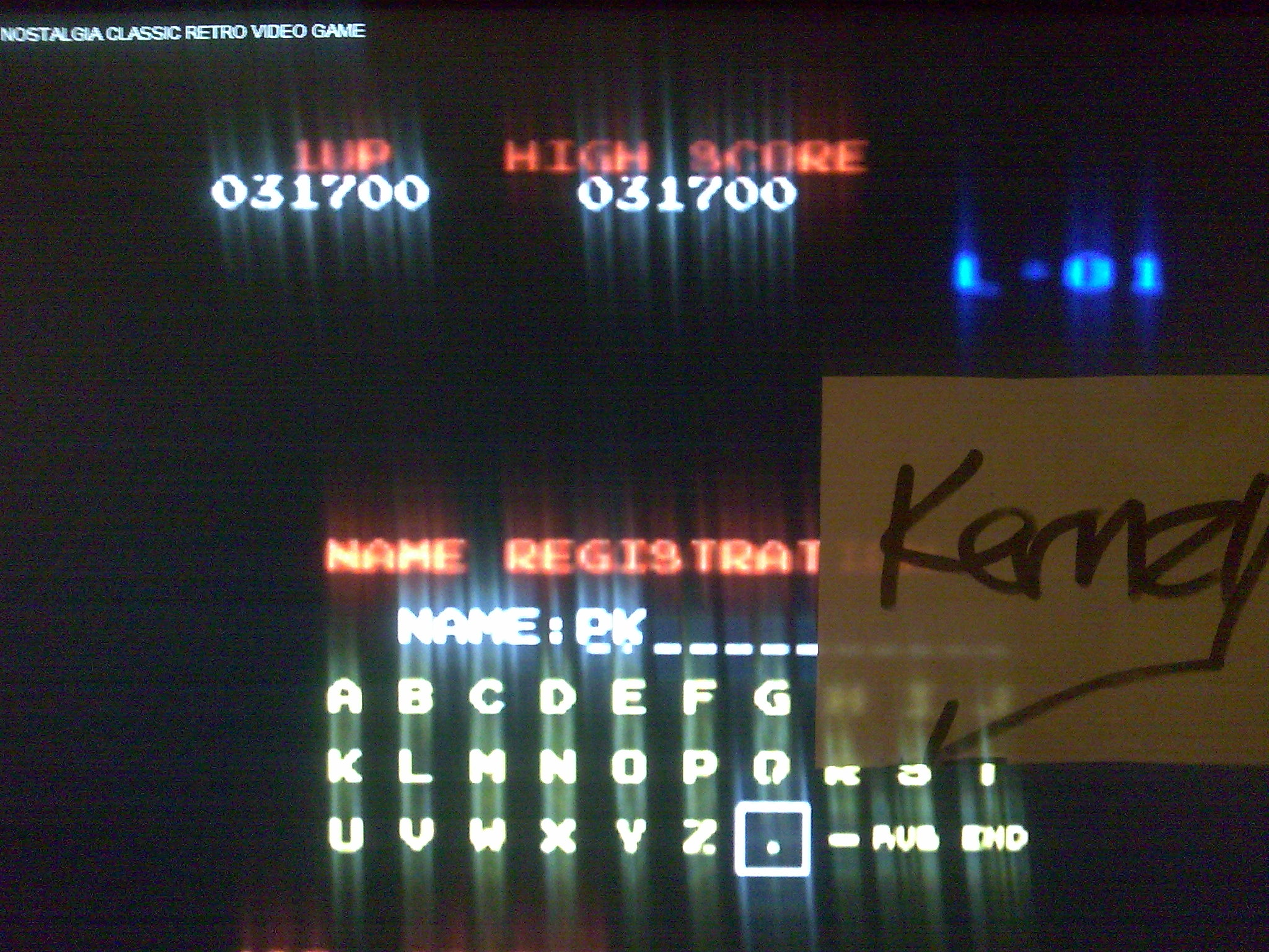 kernzy: Donkey Kong (Amstrad CPC Emulated) 31,700 points on 2014-08-24 00:16:03