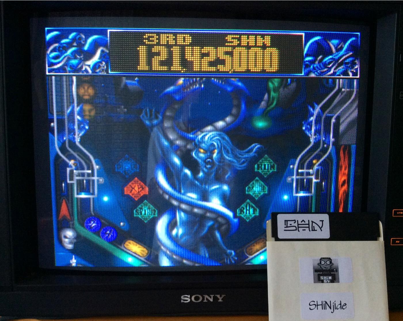 Slam Tilt: Night of the Demon 121,425,000 points