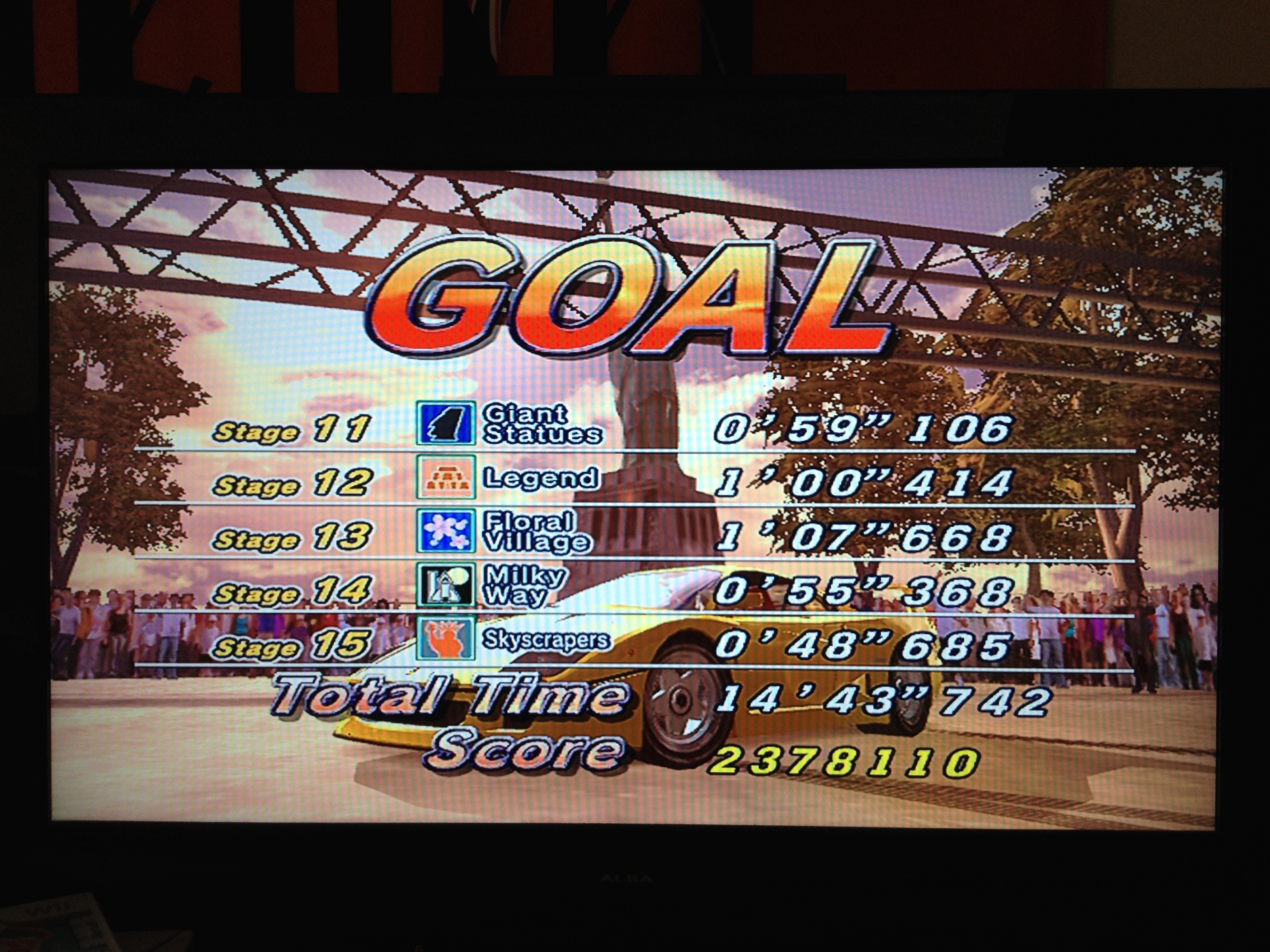 AmetDj: Outrun 2006 Coast 2 Coast: OUTRUN 2SP: 15 Continuous Course (Xbox) 2,378,110 points on 2014-08-24 06:47:30
