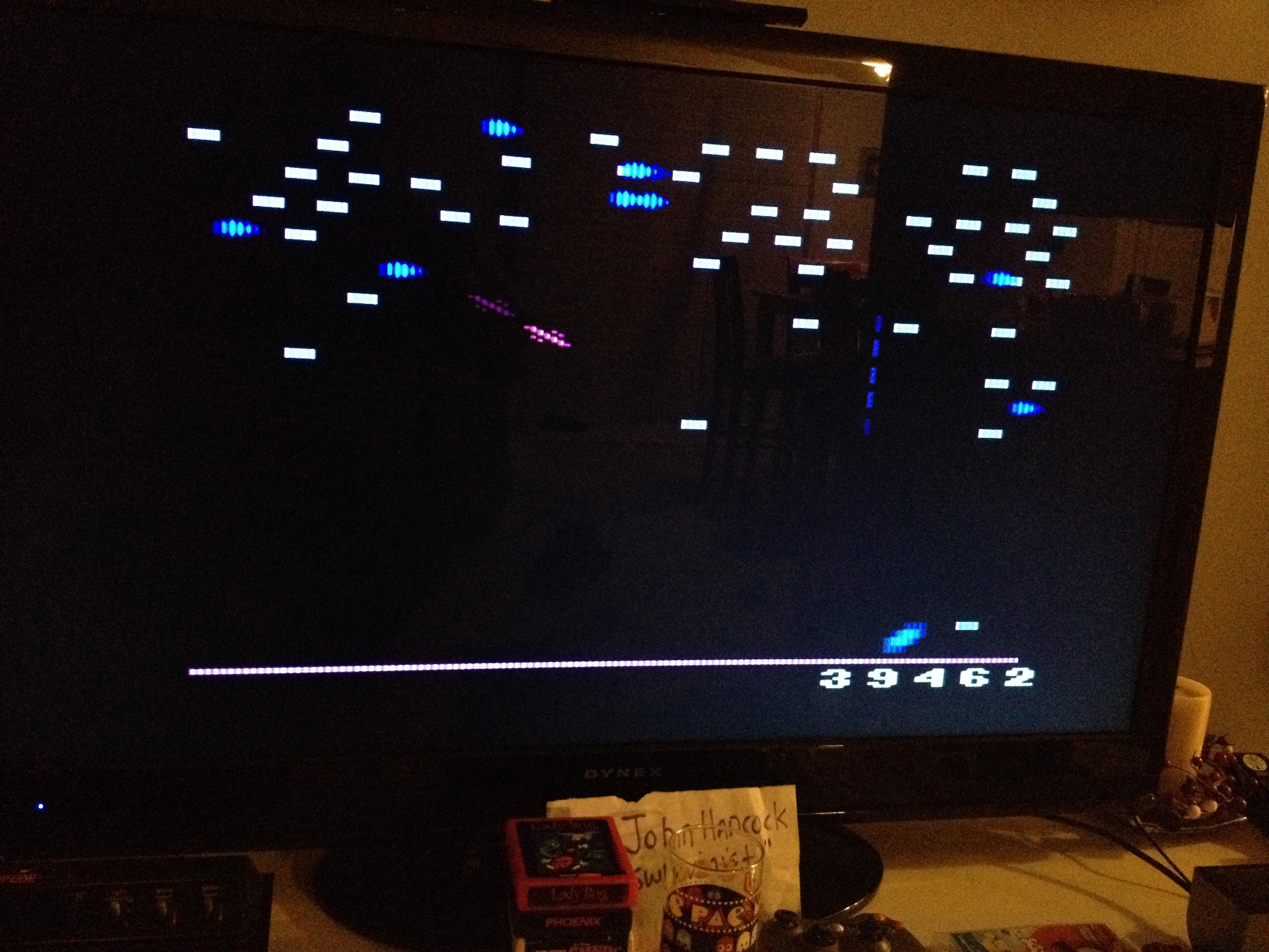 swlovinist: Millipede (Atari 2600 Expert/A) 39,462 points on 2013-10-02 00:28:40