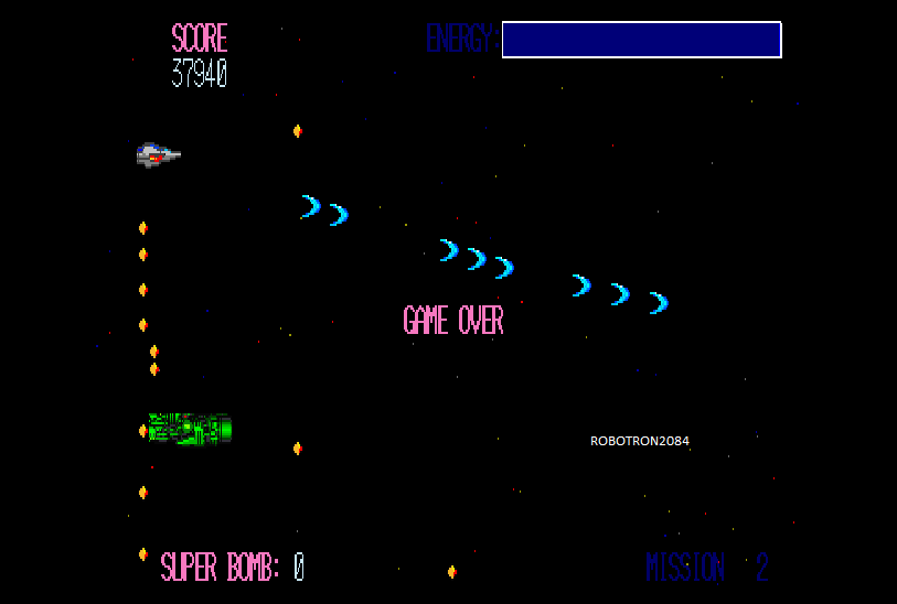 Robotron2084: Mission For Adult [Mission 1 Start] (Sharp X68000 Emulated) 37,940 points on 2014-08-24 12:07:23