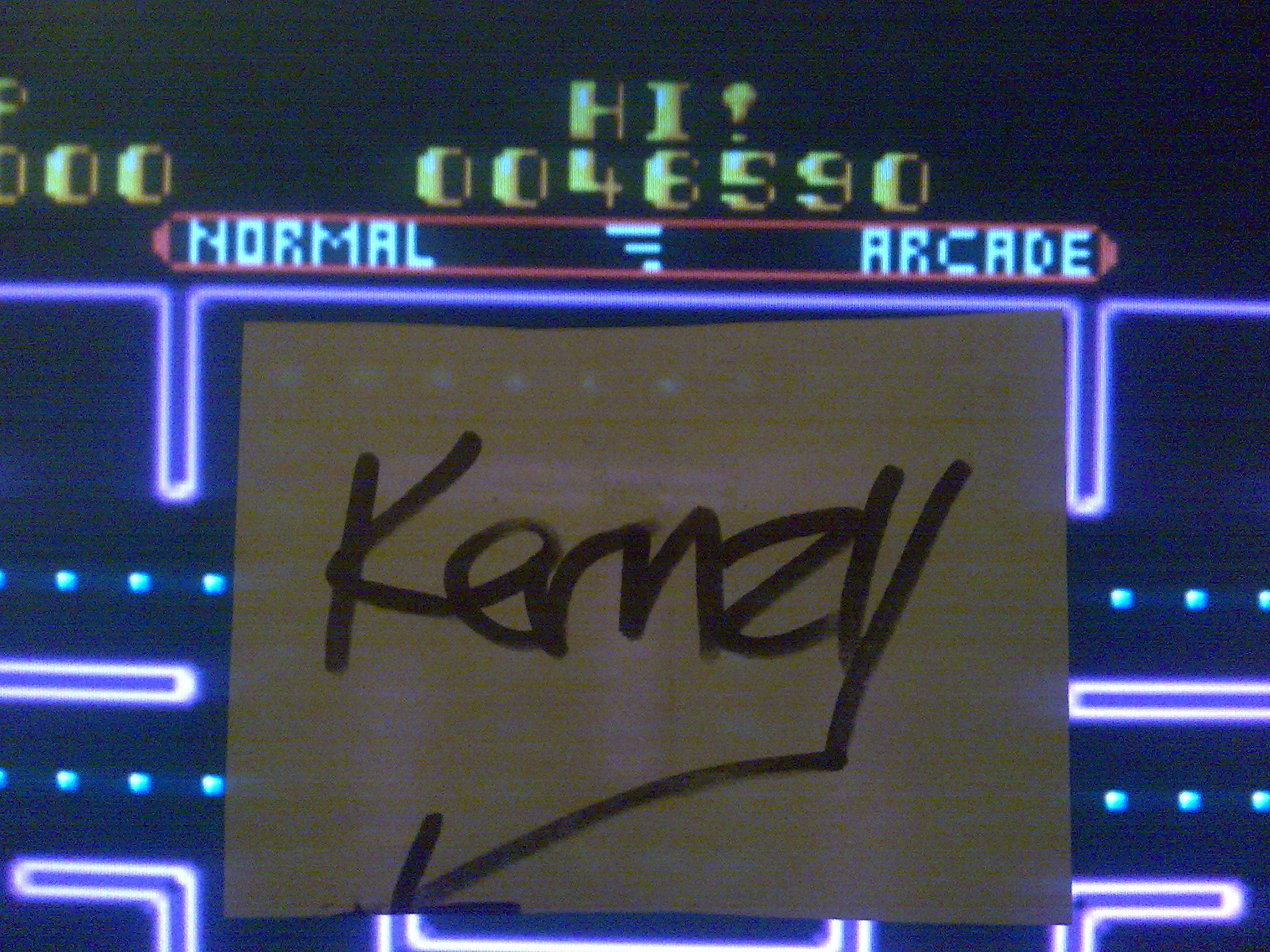 kernzy: Ms. Pac-Man (Sega Master System Emulated) 46,590 points on 2014-08-24 16:43:41