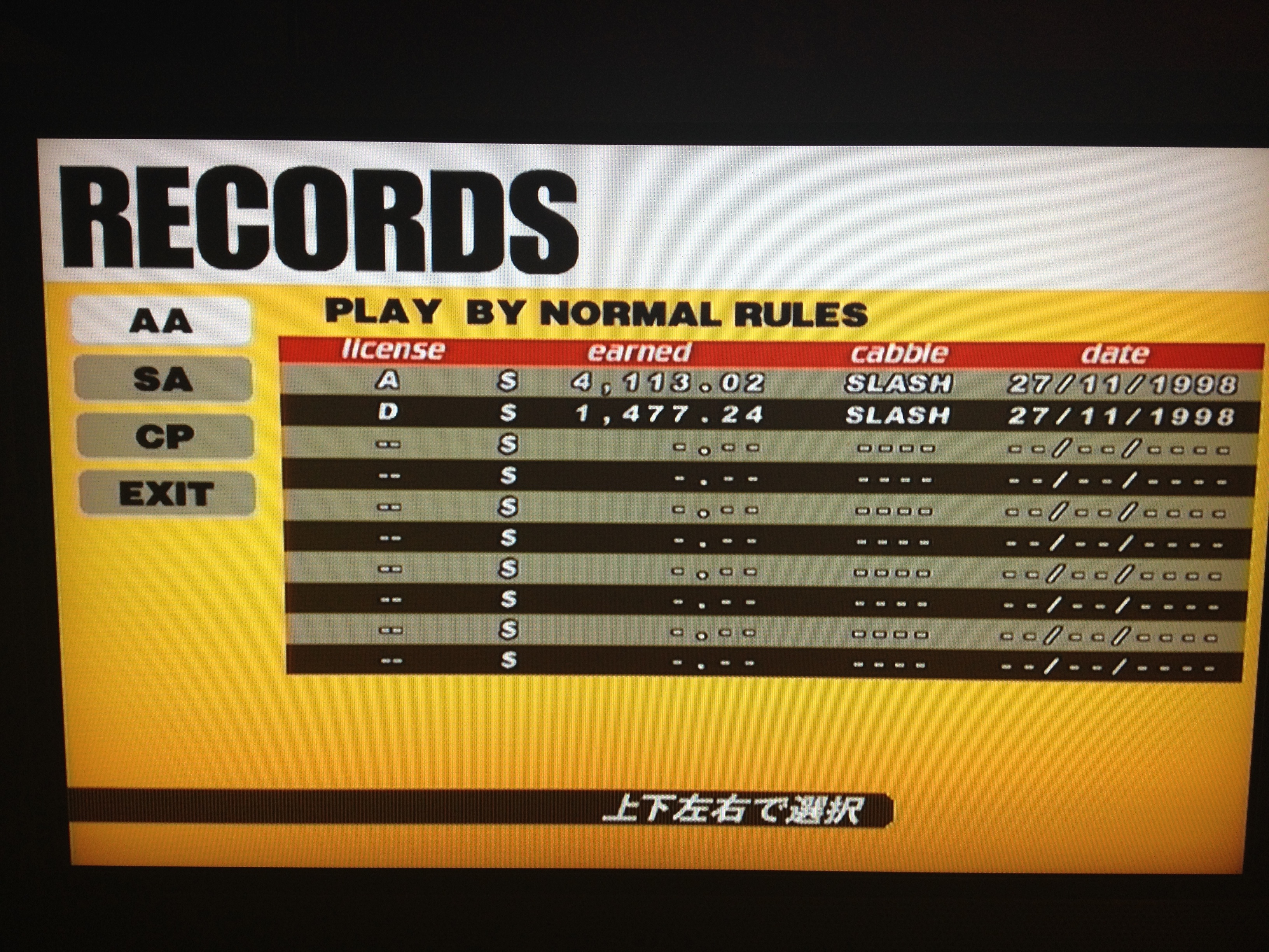 AmetDj: Crazy Taxi 2 [Around Apple/Normal] (Dreamcast) 4,113 points on 2014-08-24 18:20:25