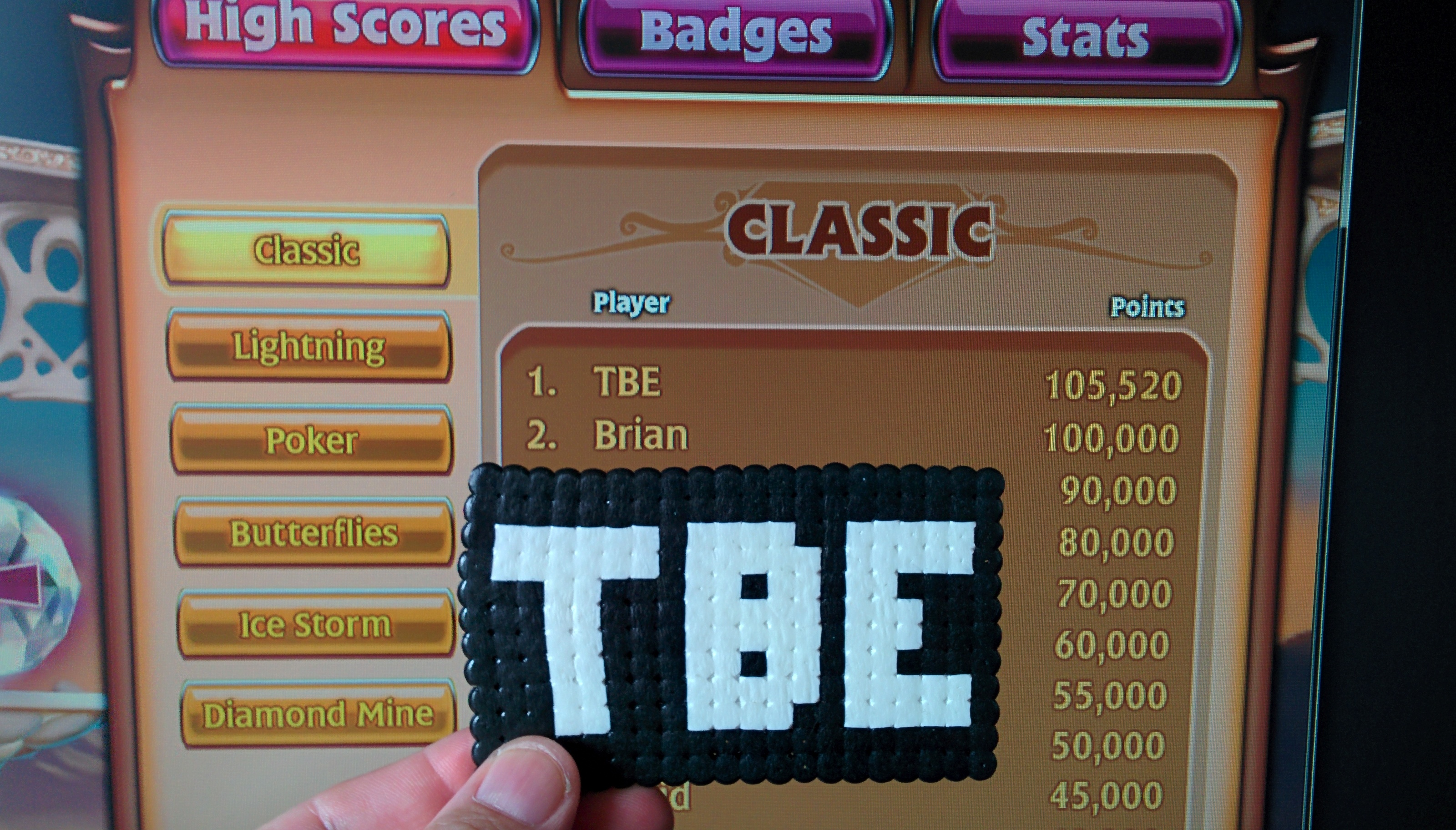 Sixx: Bejeweled 3 [Classic] (PC) 105,520 points on 2014-08-25 09:43:57