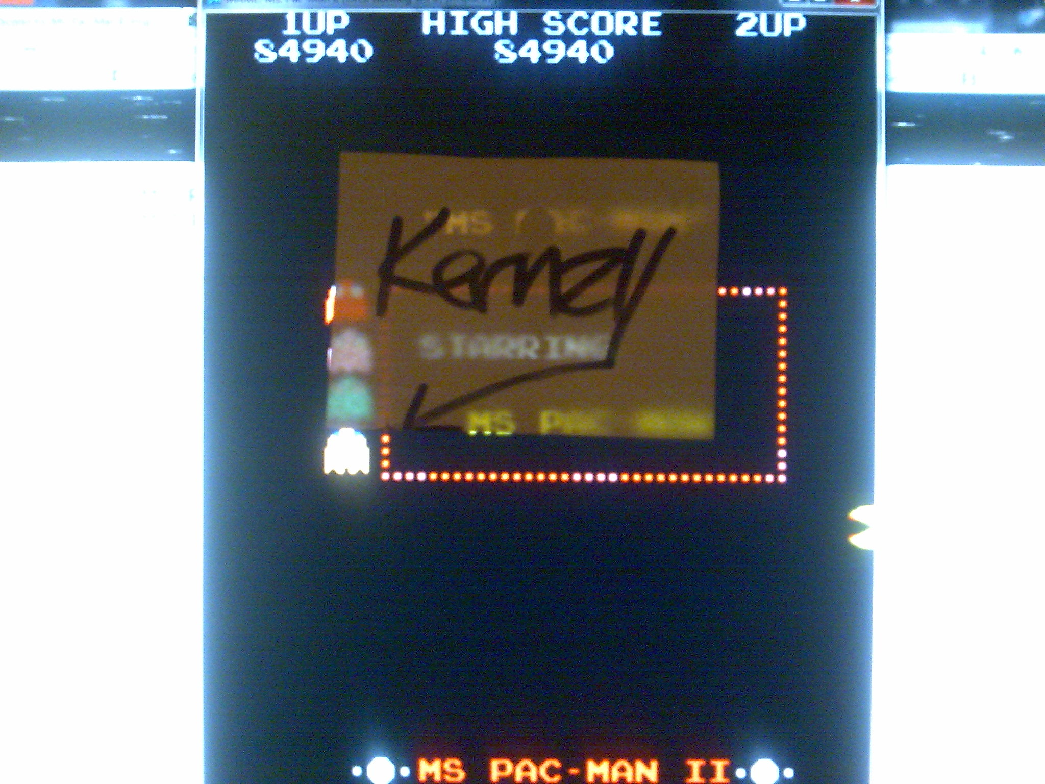 kernzy: Ms. Pac-Man II [mspacii2] (Arcade Emulated / M.A.M.E.) 84,940 points on 2014-08-25 18:20:57
