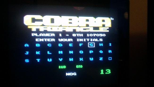 Nognir: Cobra Triangle (NES/Famicom) 107,050 points on 2014-08-26 10:12:33