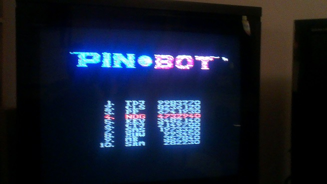 Nognir: Pin*Bot (NES/Famicom) 4,732,940 points on 2014-08-26 10:14:52