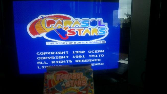 Nognir: Parasol Stars (NES/Famicom) 581,460 points on 2014-08-26 10:16:27