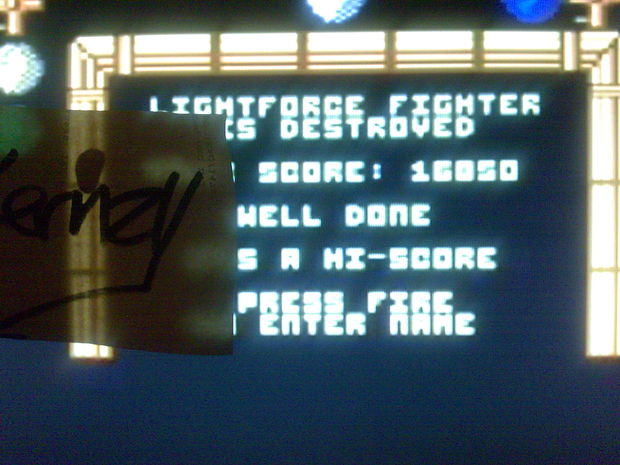 kernzy: Lightforce (Commodore 64 Emulated) 16,850 points on 2014-08-26 12:12:24
