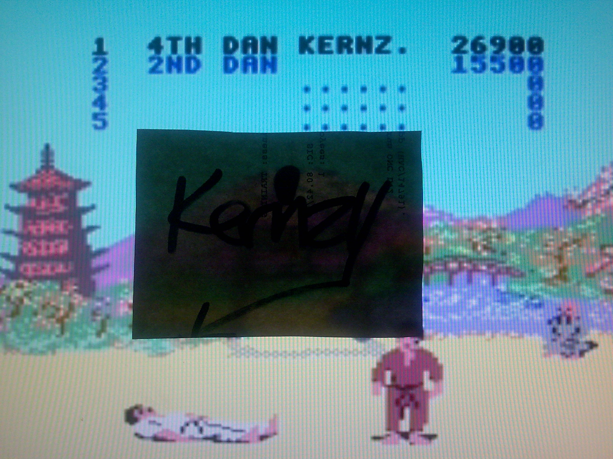 kernzy: Way of the Exploding Fist (Commodore 64 Emulated) 26,900 points on 2014-08-26 12:16:49
