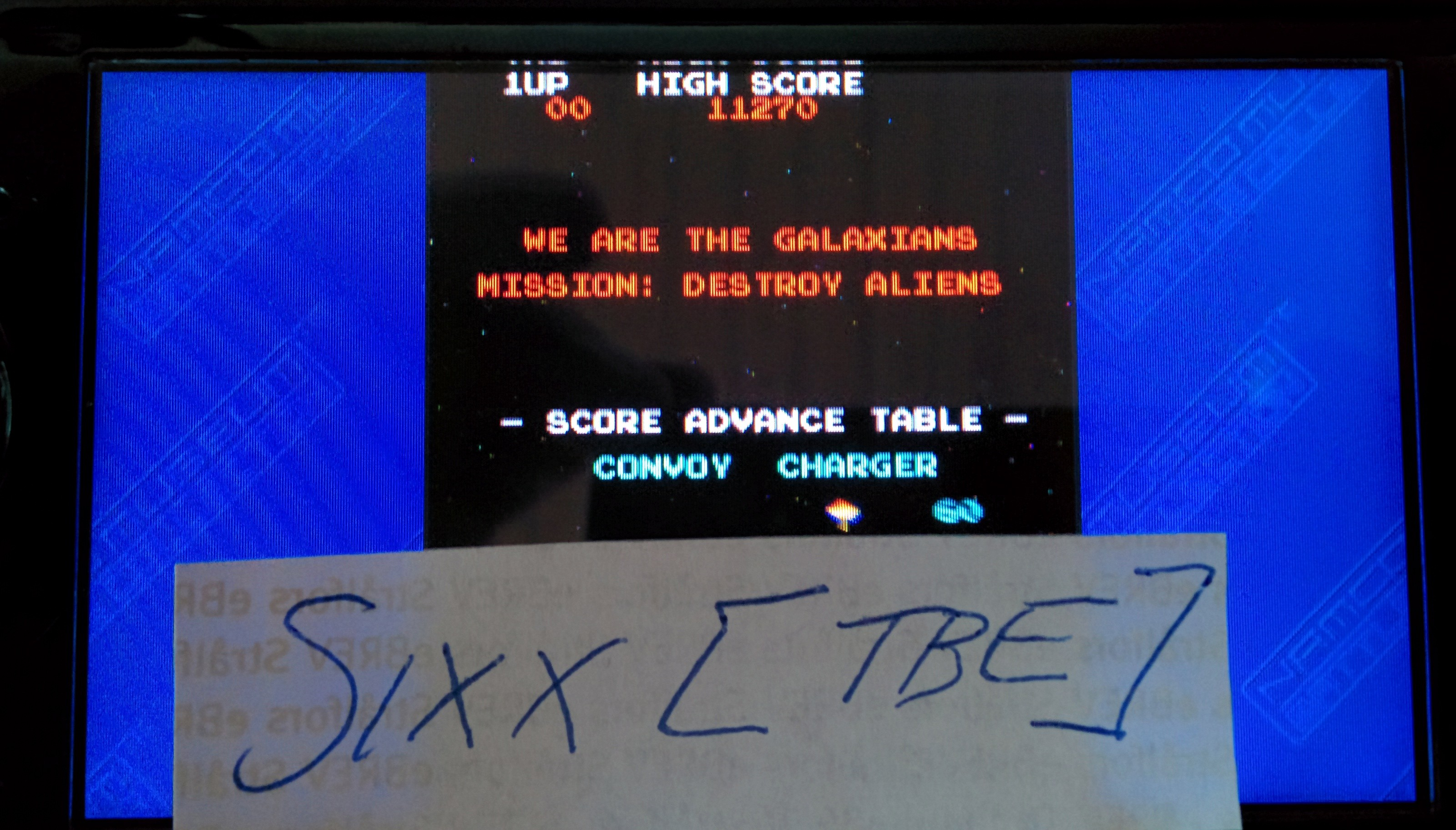 Sixx: Namco Museum: Battle Collection: Galaxian (PSP) 11,270 points on 2014-08-26 12:49:38