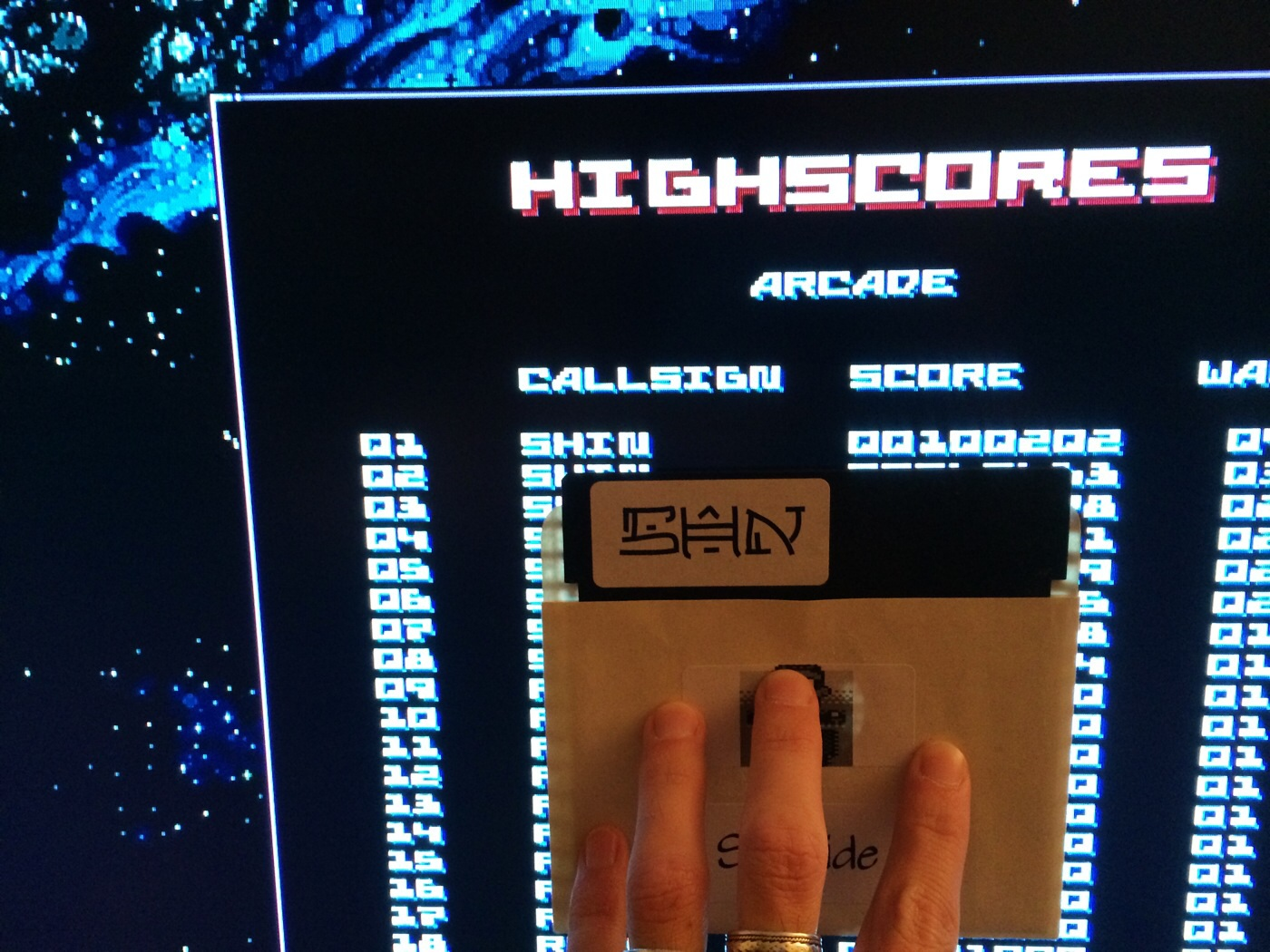 SHiNjide: r0x [Extended Play]: Arcade (Ouya) 100,202 points on 2014-08-26 16:43:12