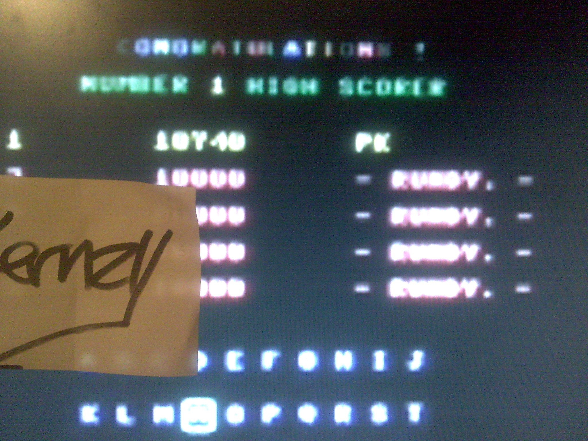 kernzy: Guzzler (Commodore 64 Emulated) 10,740 points on 2014-08-26 16:50:57