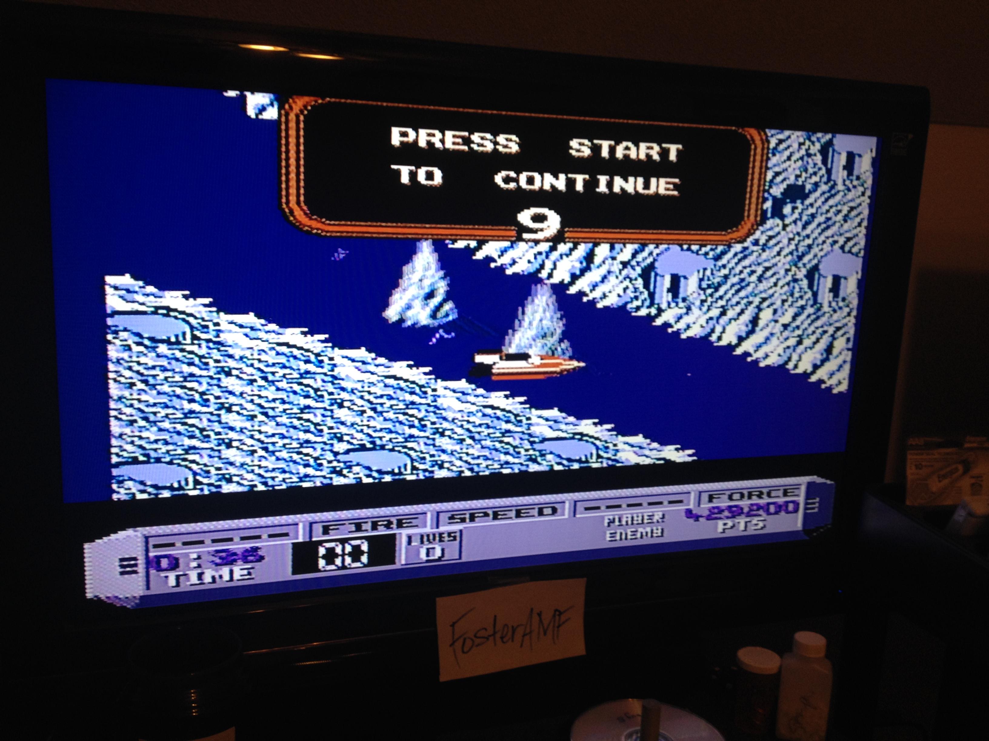 FosterAMF: Cobra Triangle (NES/Famicom) 429,200 points on 2014-08-27 03:33:26
