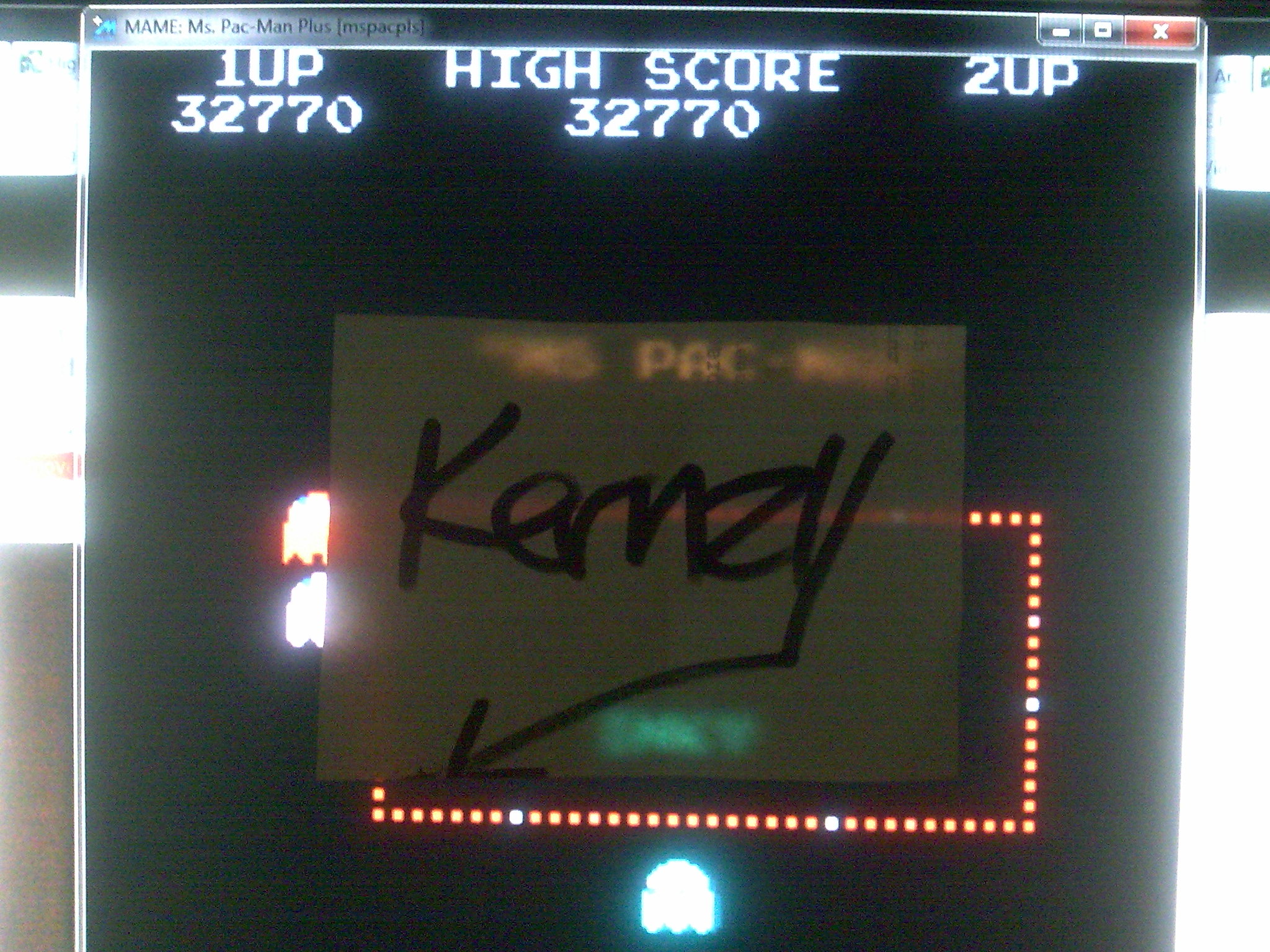 kernzy: Ms. Pac-Man Plus [mspacpls] (Arcade Emulated / M.A.M.E.) 39,070 points on 2014-08-27 08:02:07