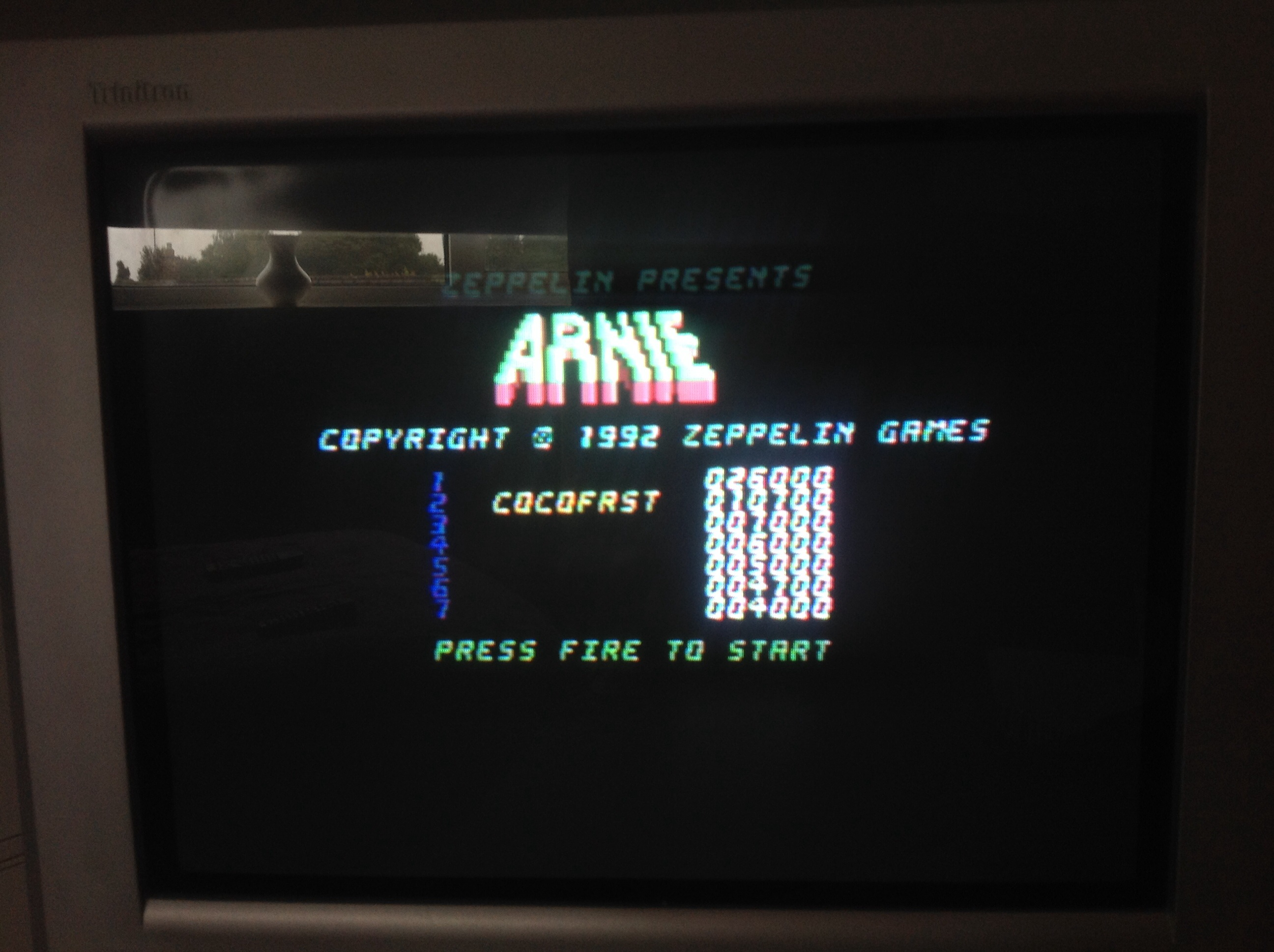 CoCoForest: Arnie (Commodore 64) 10,700 points on 2014-08-27 09:15:16