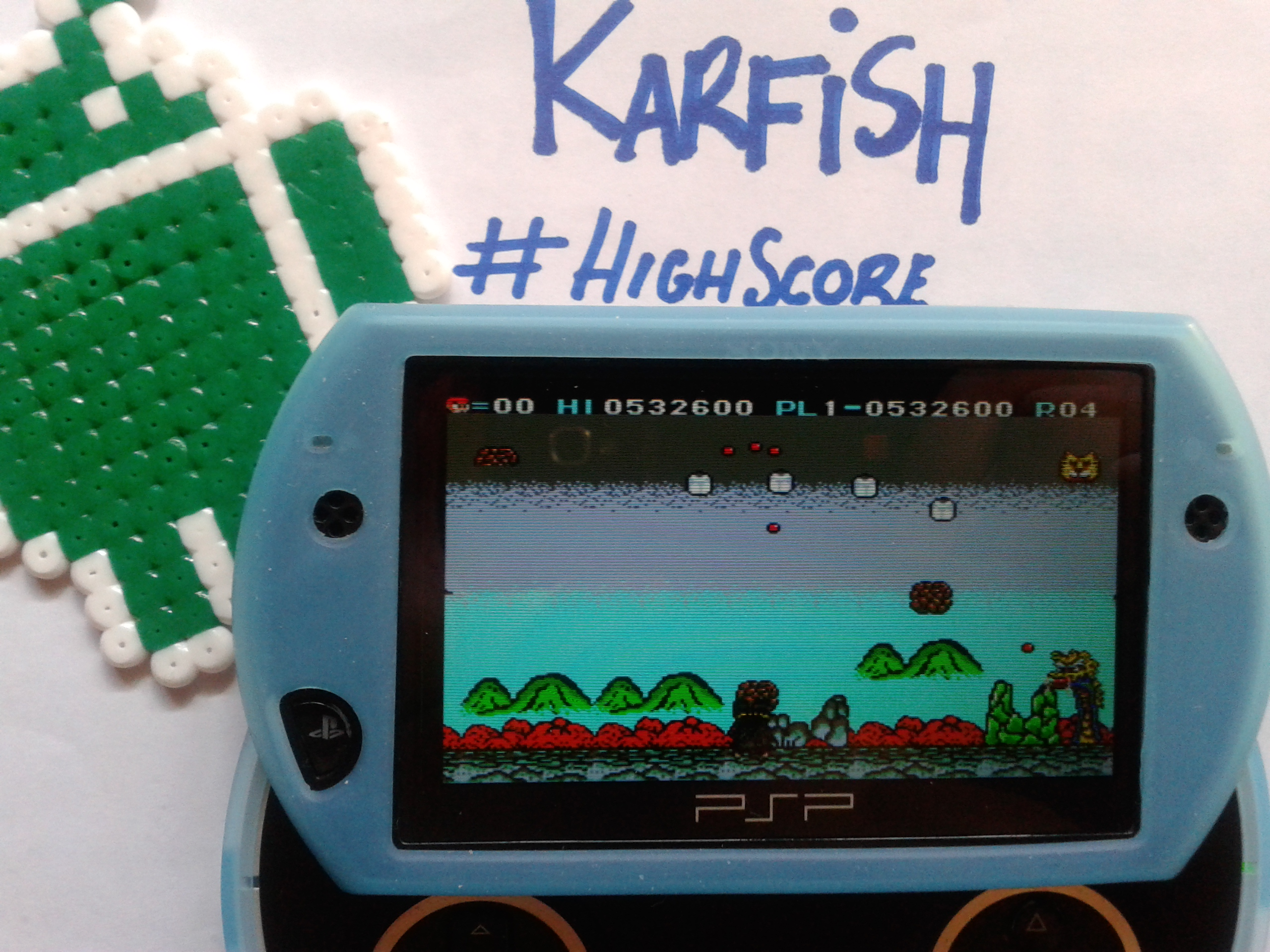 karfish: Cloud Master (Sega Master System Emulated) 532,600 points on 2014-08-27 09:15:21