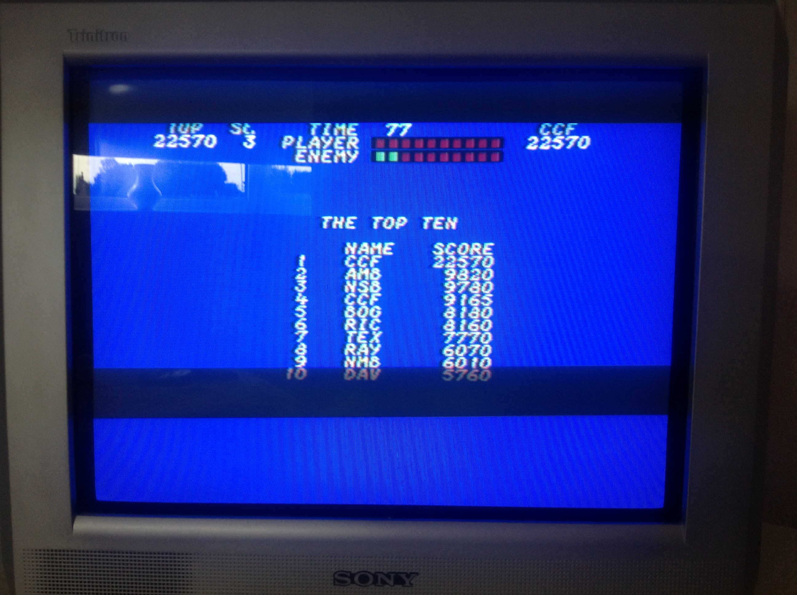 CoCoForest: Street Hassle (Commodore 64) 22,570 points on 2014-08-27 09:50:08