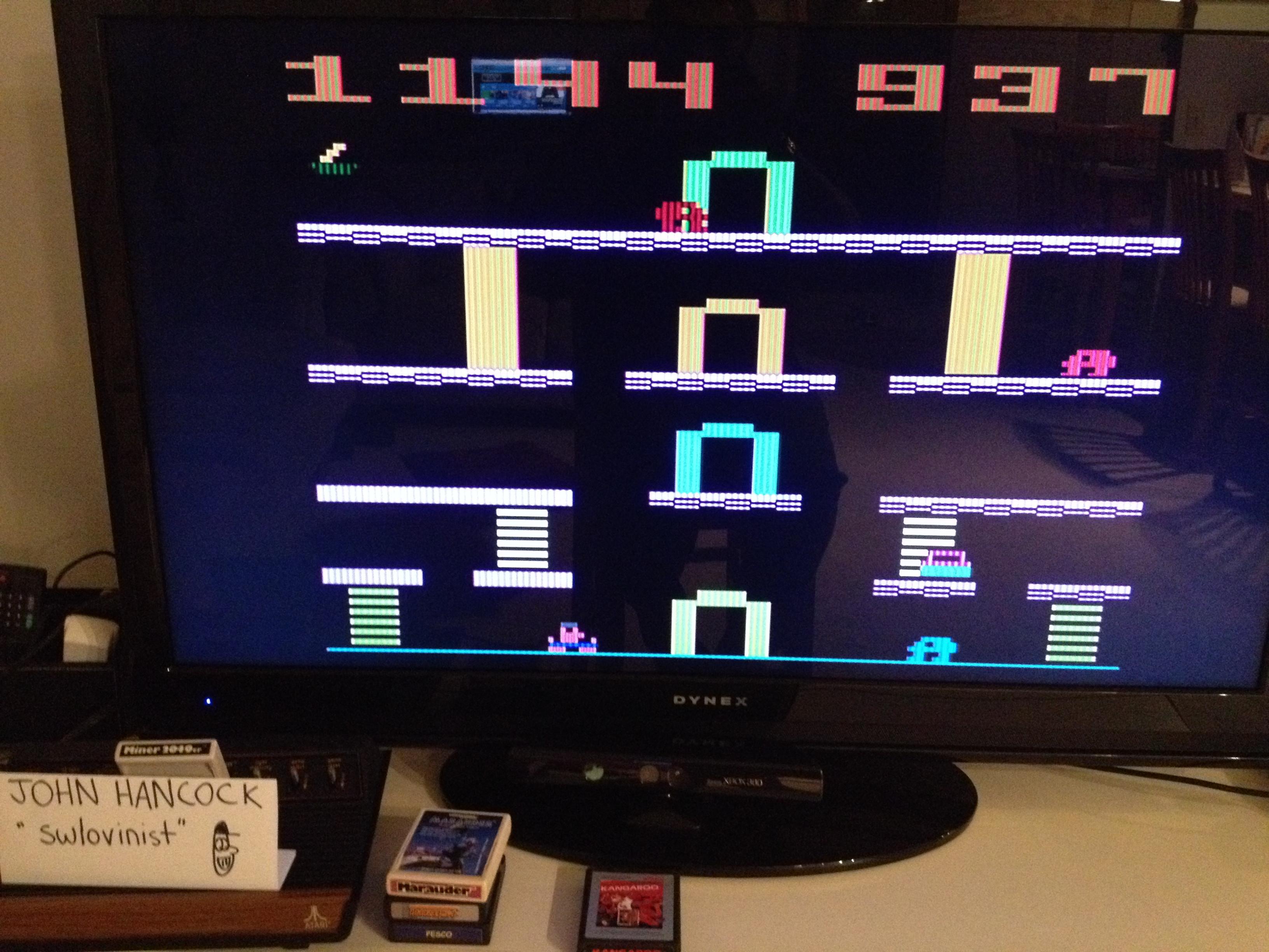 swlovinist: Miner 2049er (Atari 2600 Expert/A) 1,144 points on 2013-10-02 23:18:19