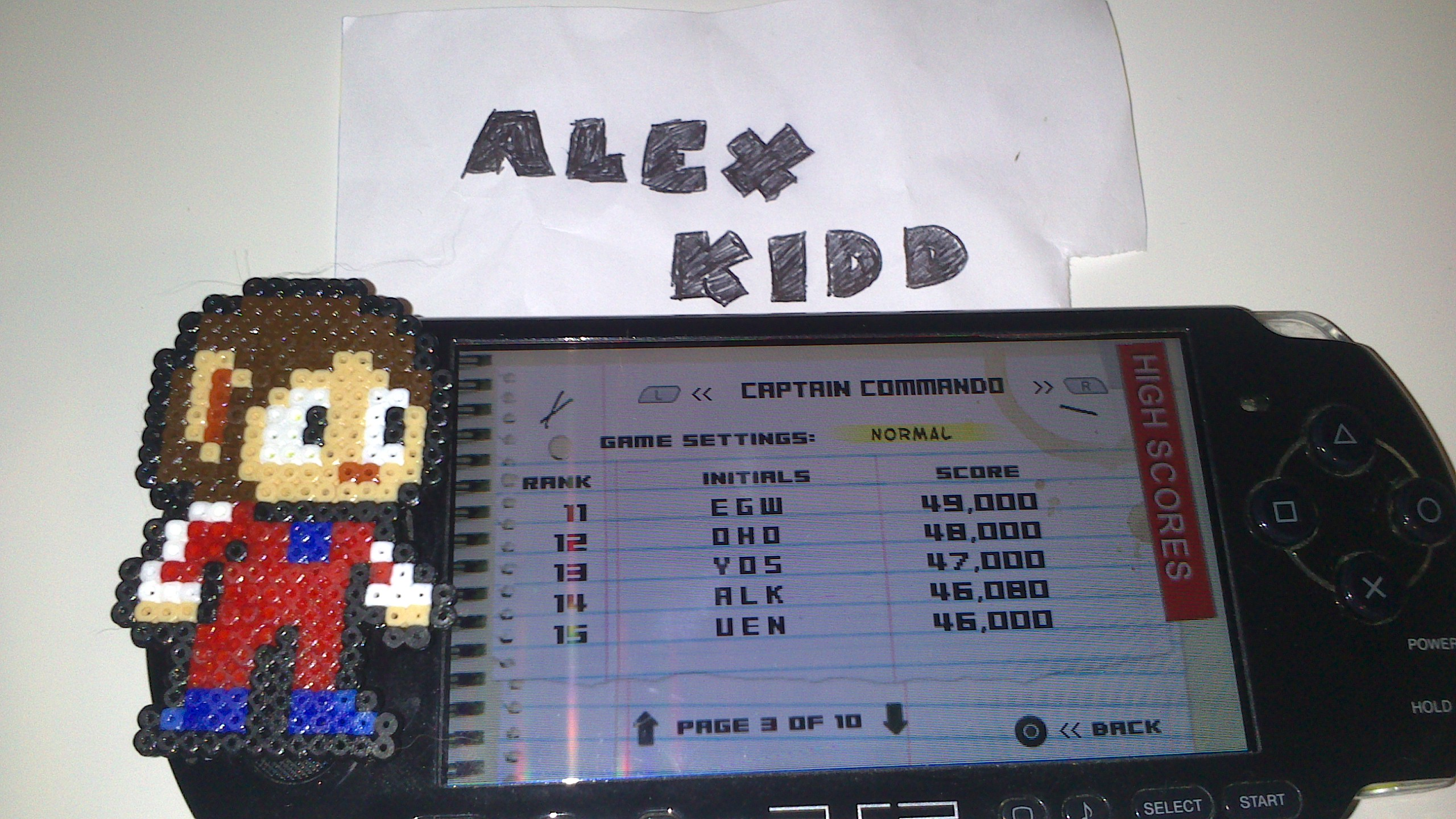 AlexKidd: Capcom Classics Collection Remixed: Captain Commando [Normal] (PSP) 46,080 points on 2014-08-27 18:13:21